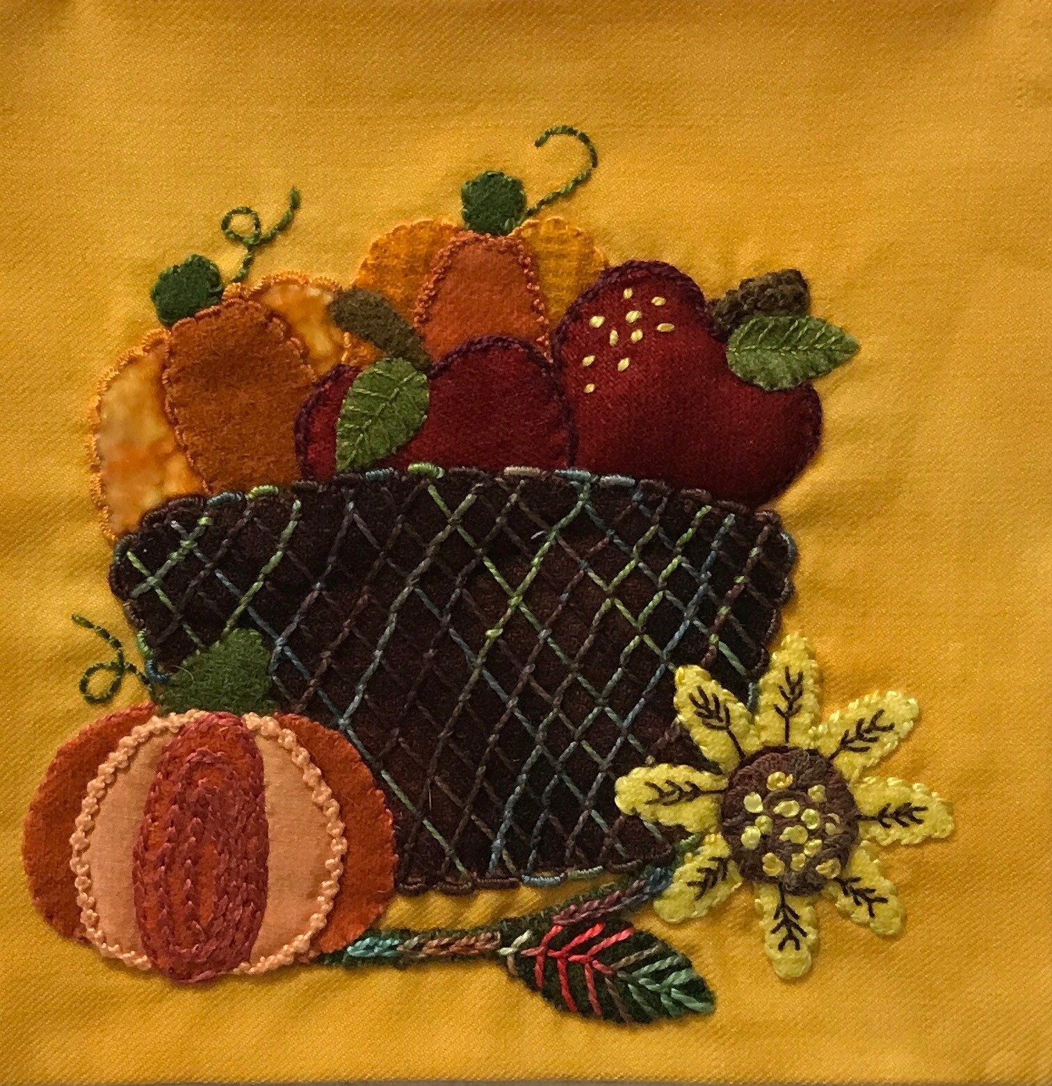 Wooly Block Adventure Fall Harvest Pattern