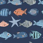 Oceans Away Fish In a Row