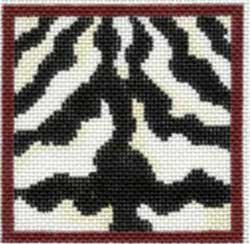 Zebra Coaster by Associated Talents