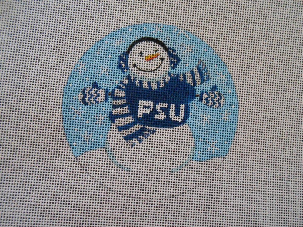 Penn State Snowman Ornament