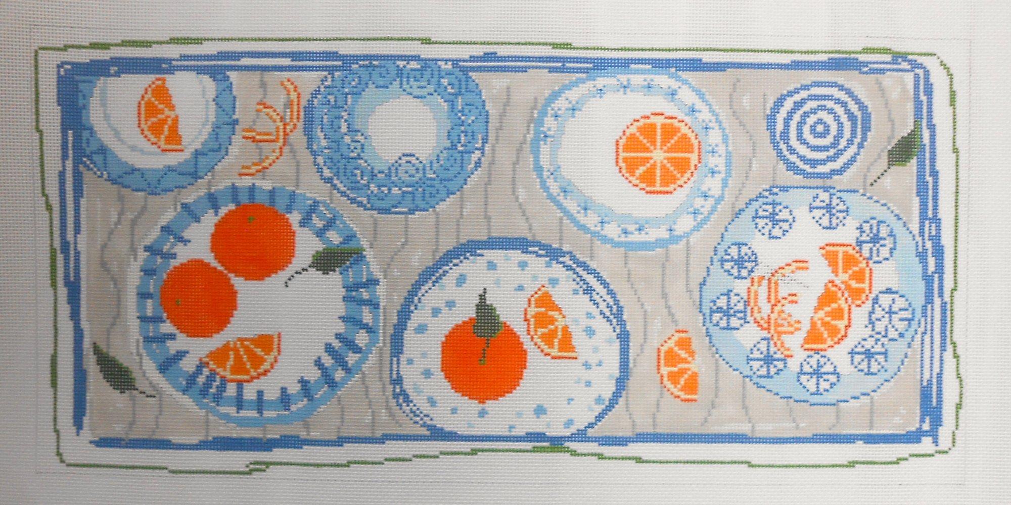Blue Plate Bolster