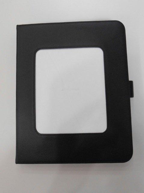 Black Leather iPad Case
