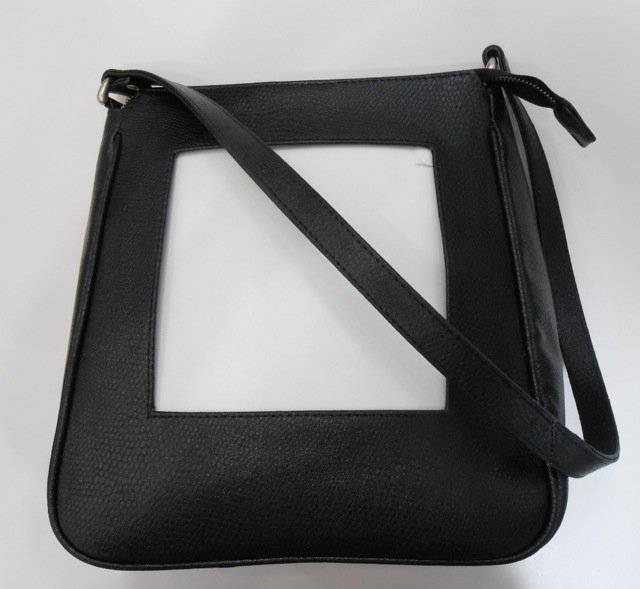 Sterling Black Leather Clutch