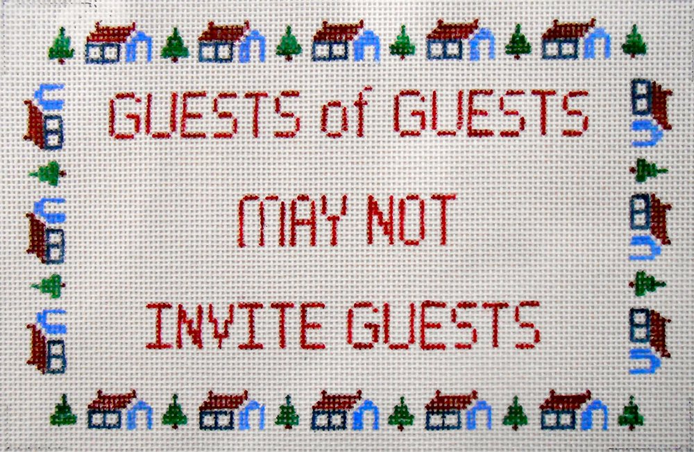 Guests of Guests