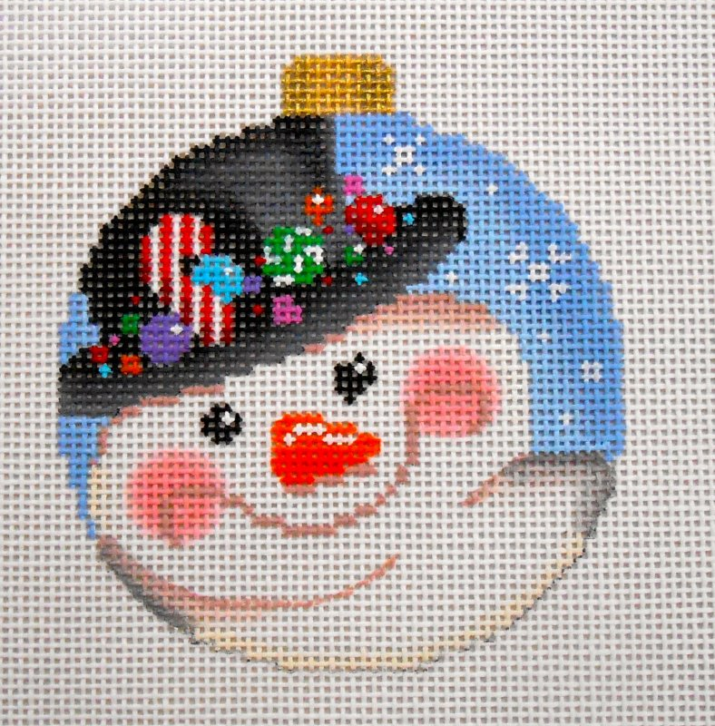 Snowman with Hat Ball