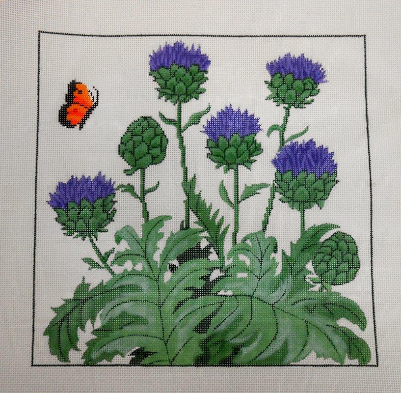 Artichokes/Butterfly