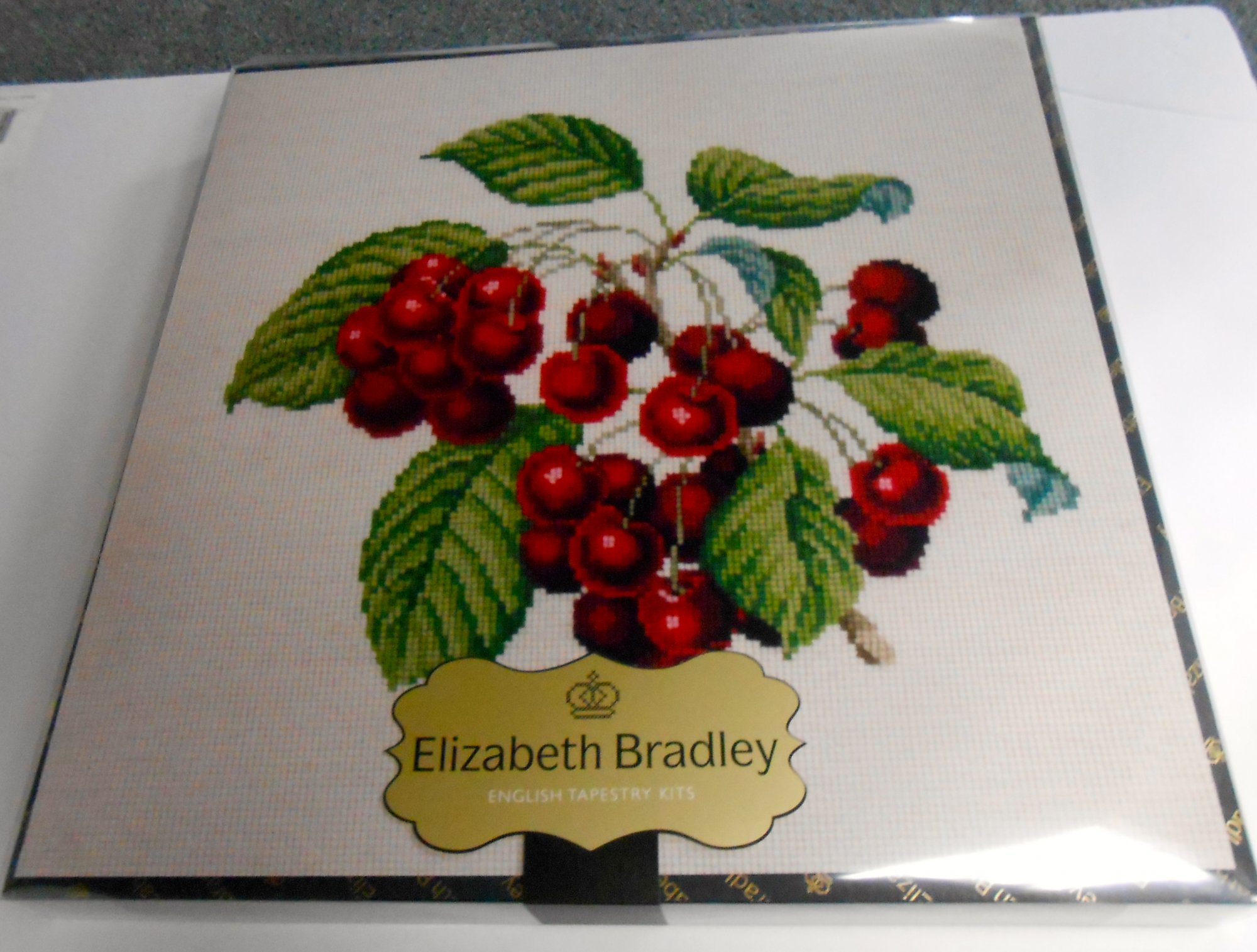 Cherries Needlepoint Kit