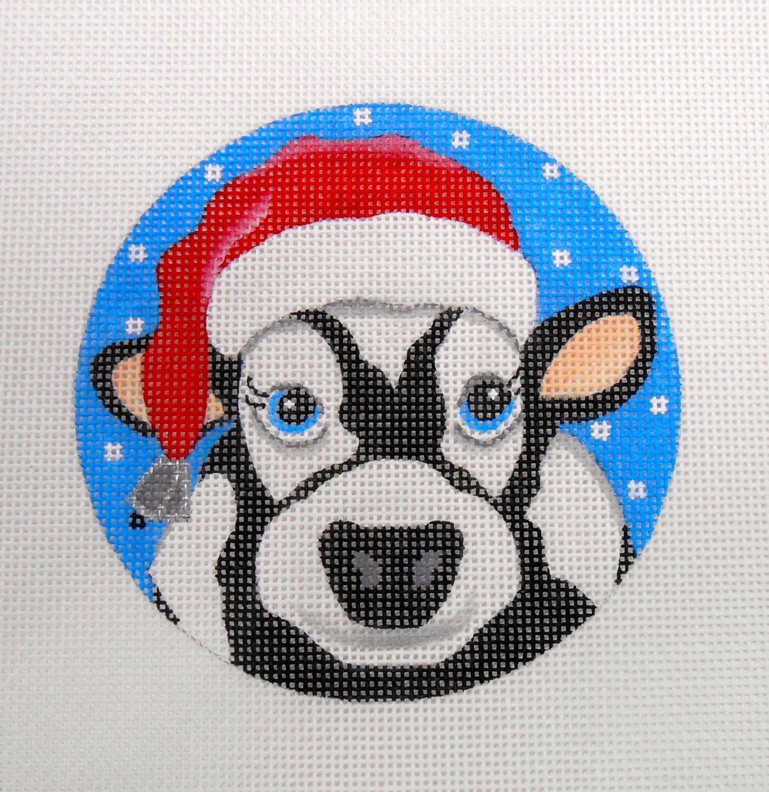Cow Santa
