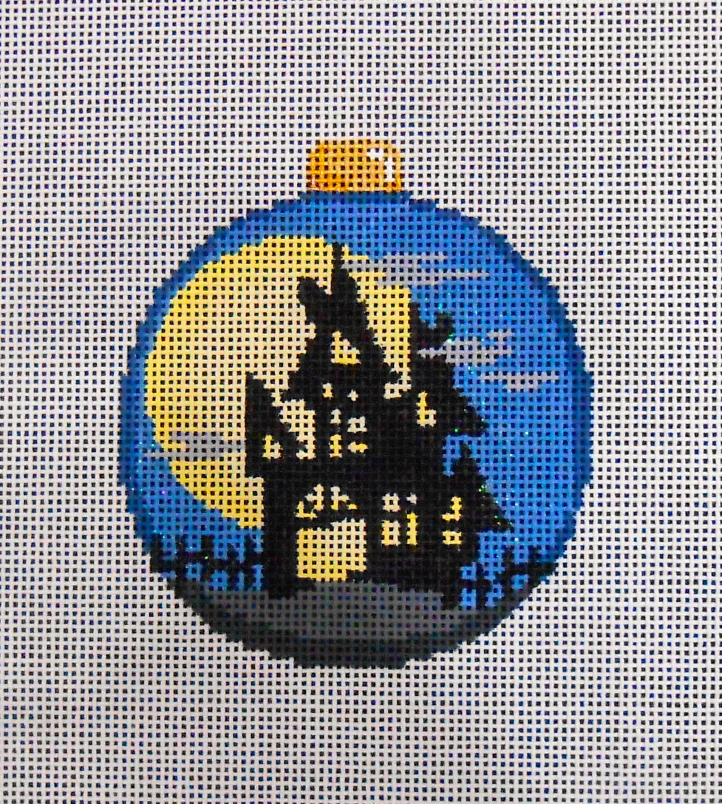Haunted House Ball Ornament