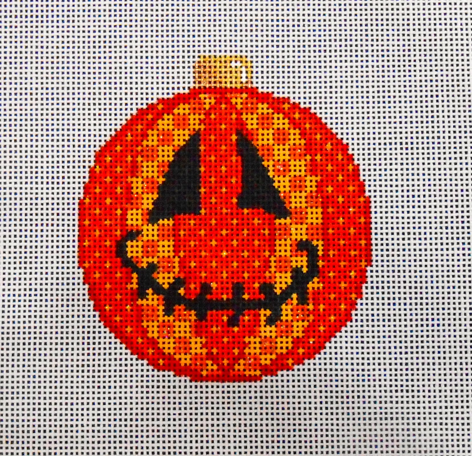 Jack O'Patch Ball Ornaments