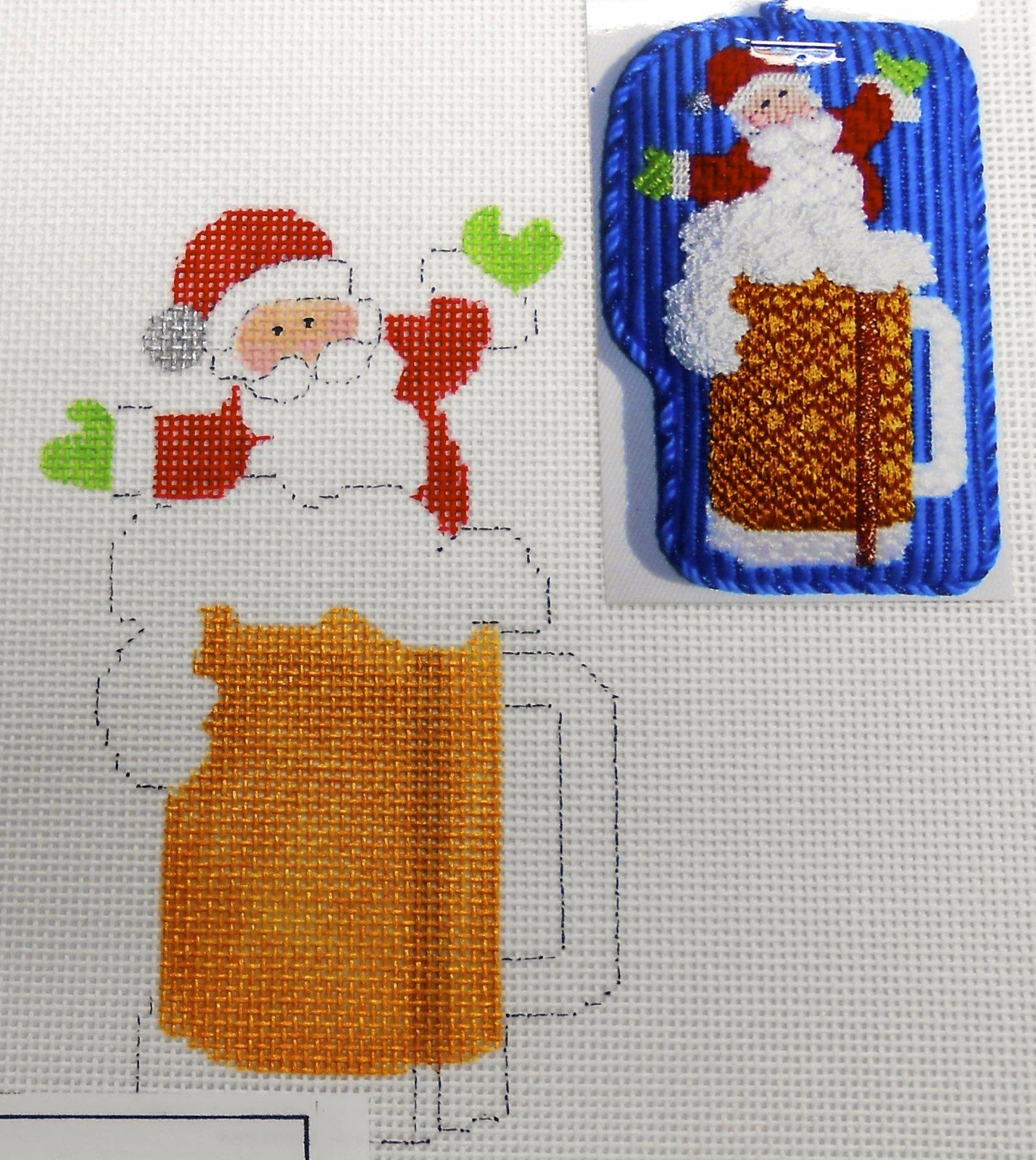 Beer Stein Santa