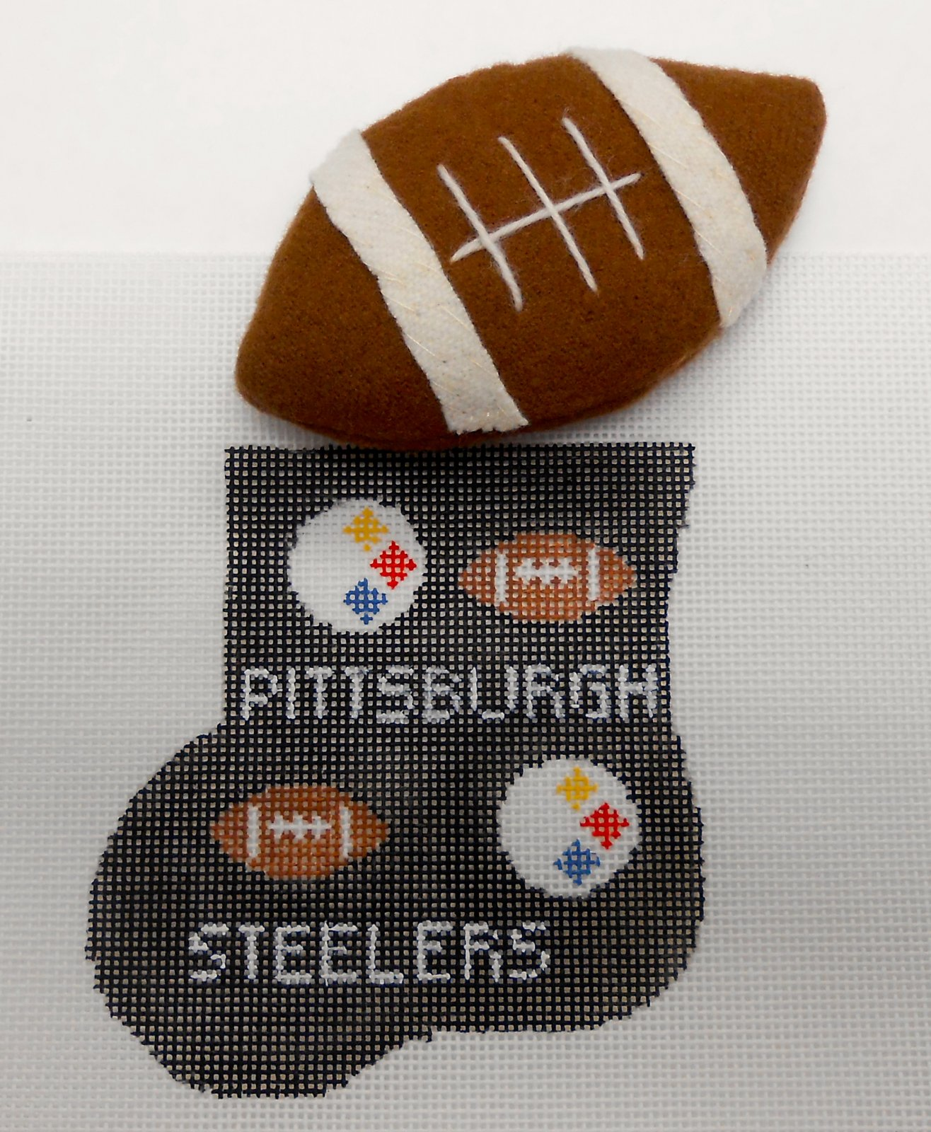 Pittsburgh Steeler mini Sock