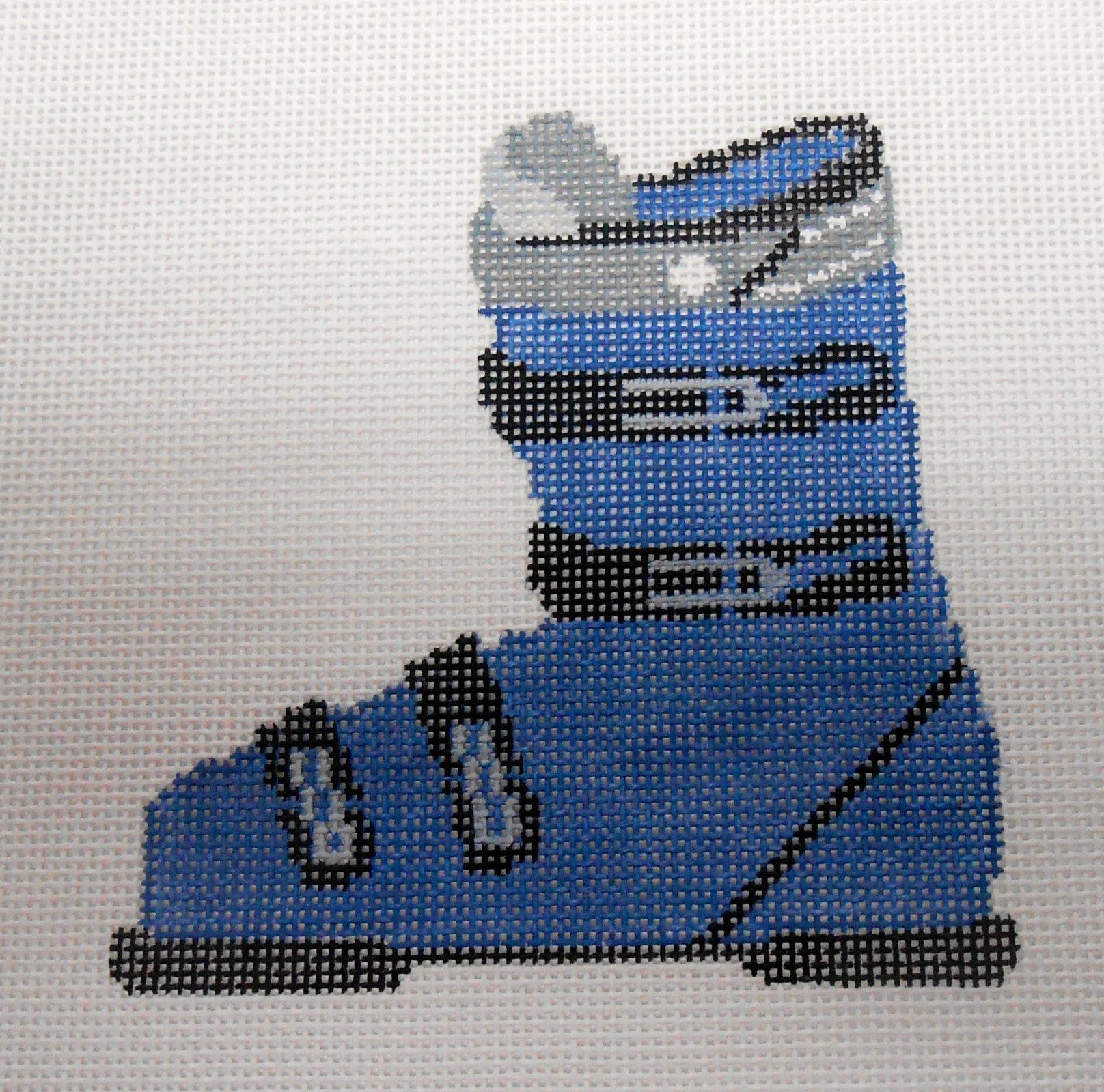 Ski Boot in Blue