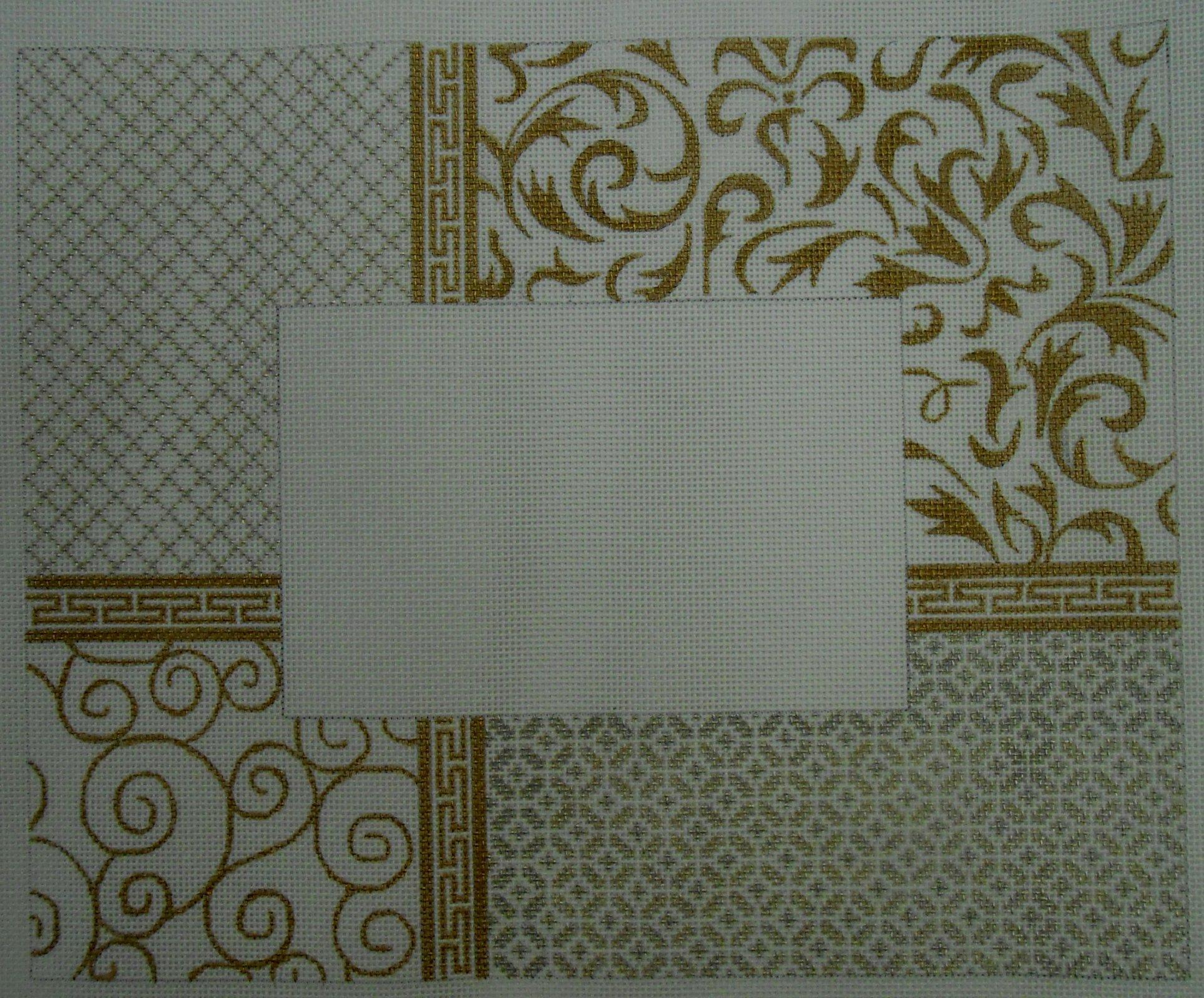 Silver & Gold Elegance Frame