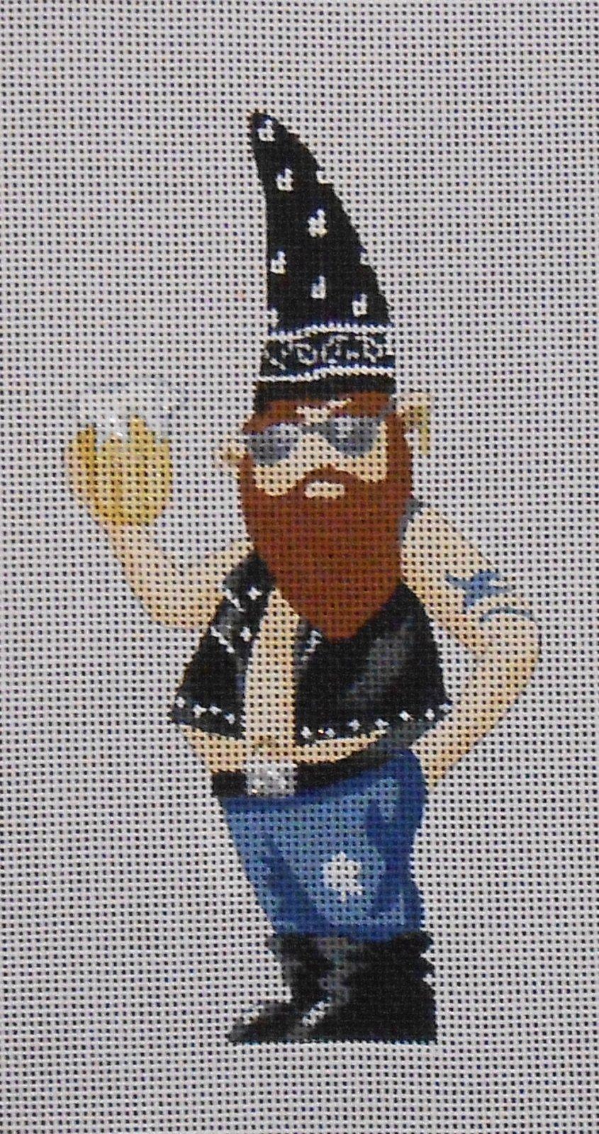 Bud the Biker Gnome