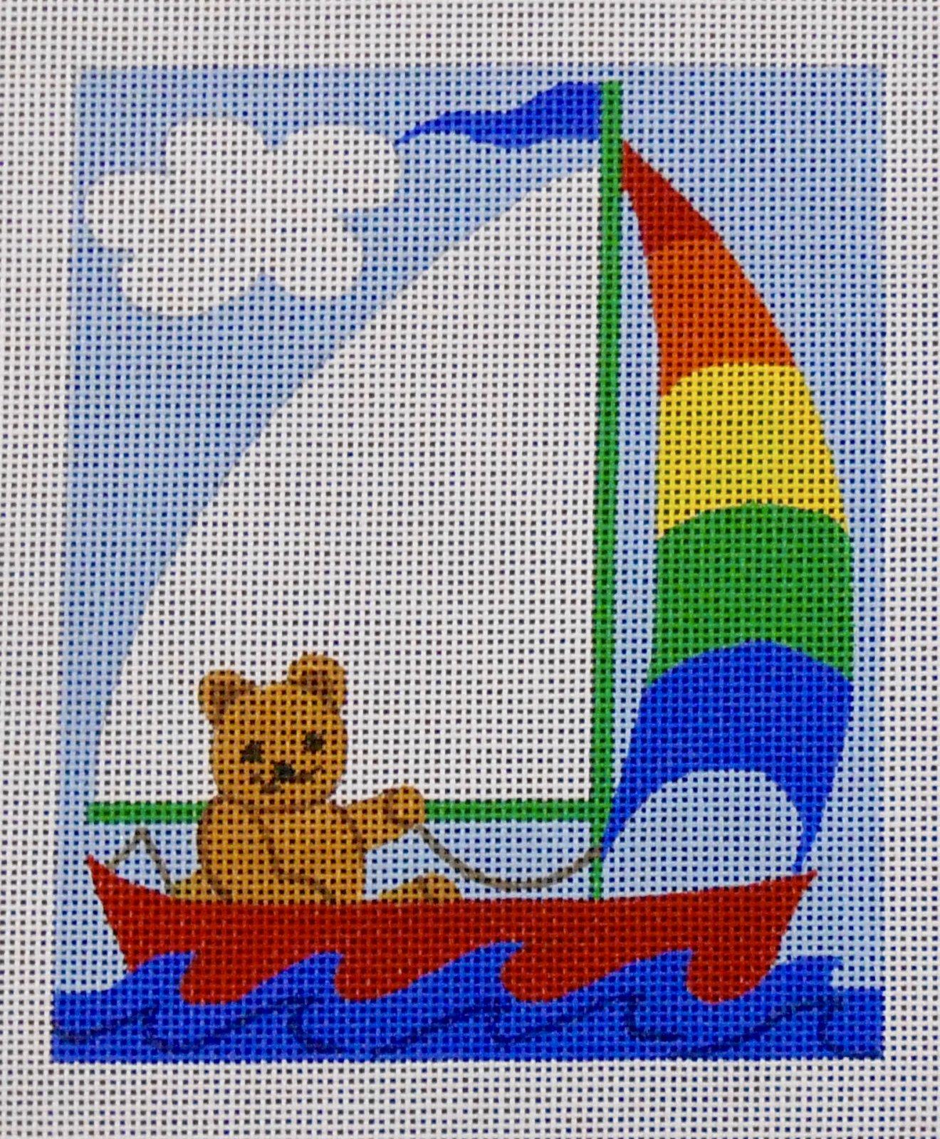 Boat with Teddy Bear