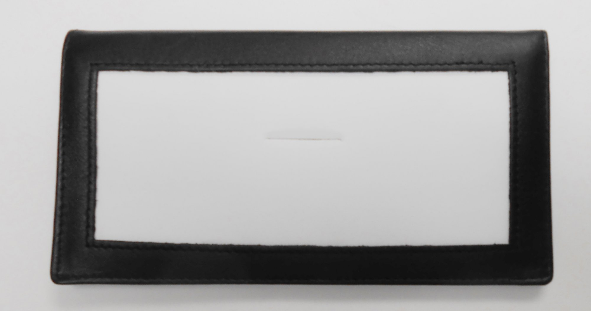 Lee's Leather Checkbook Cover