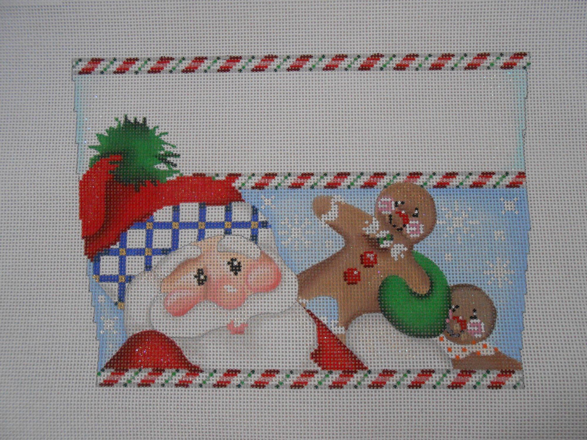 Santa/Gingerbread Cuff