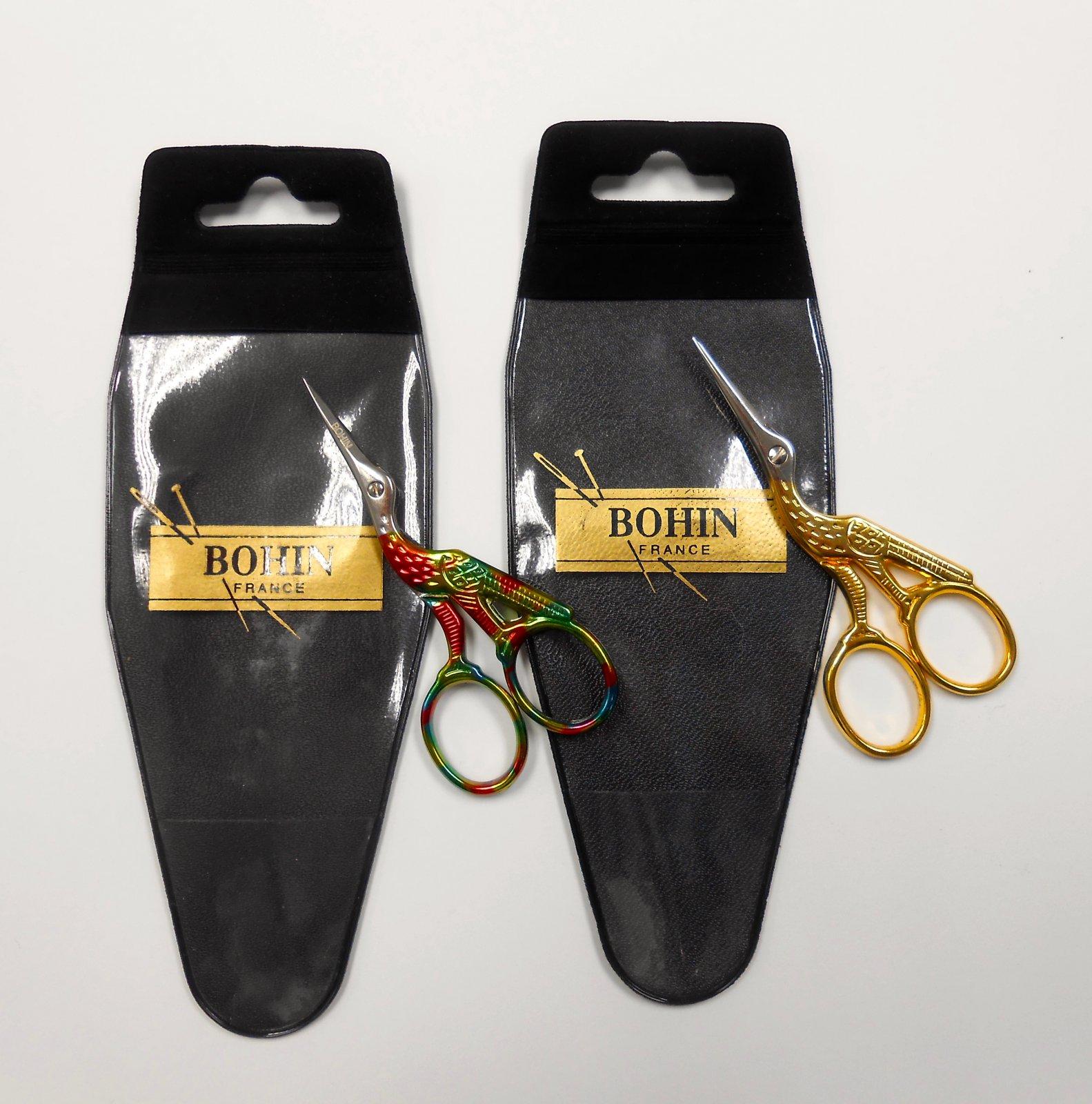 Bohin Stork Scissors - colorful