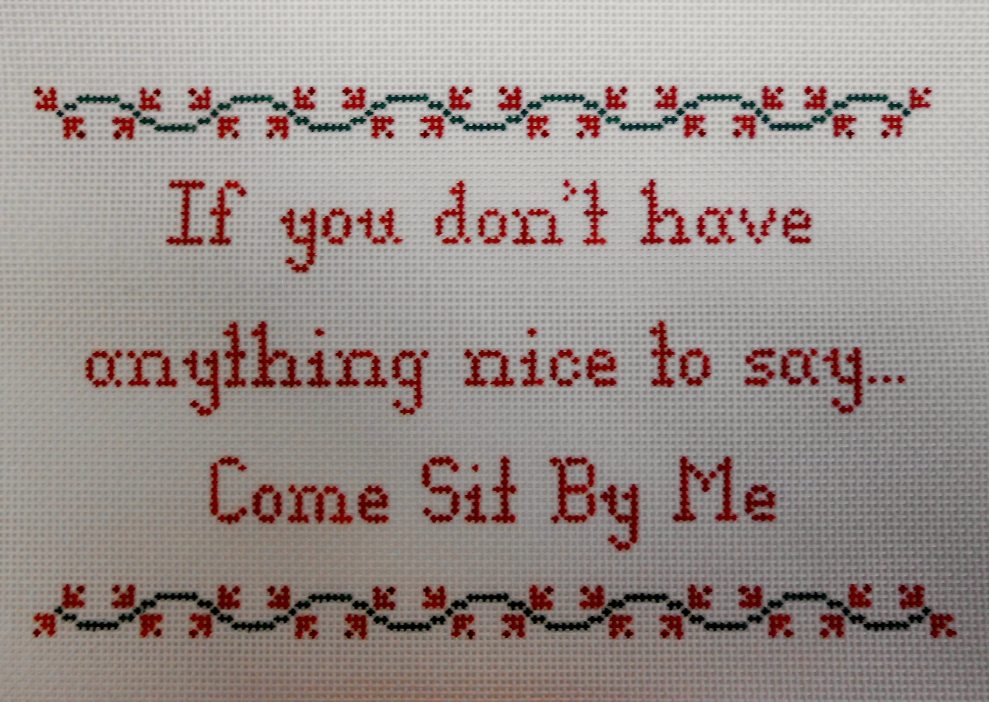 If You Don't Have Anything Nice to Say . . .