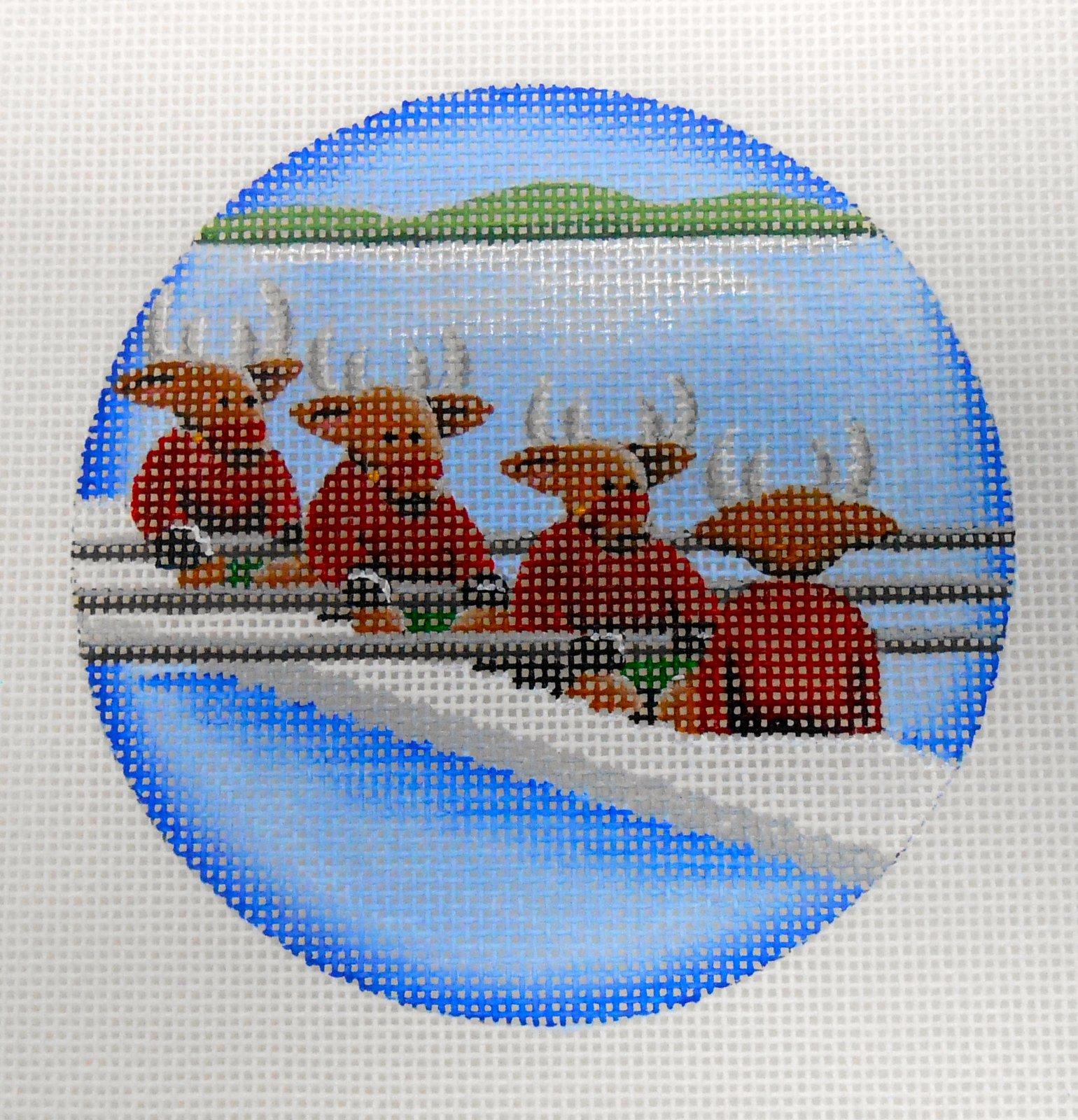 Rowing Team Reindeer