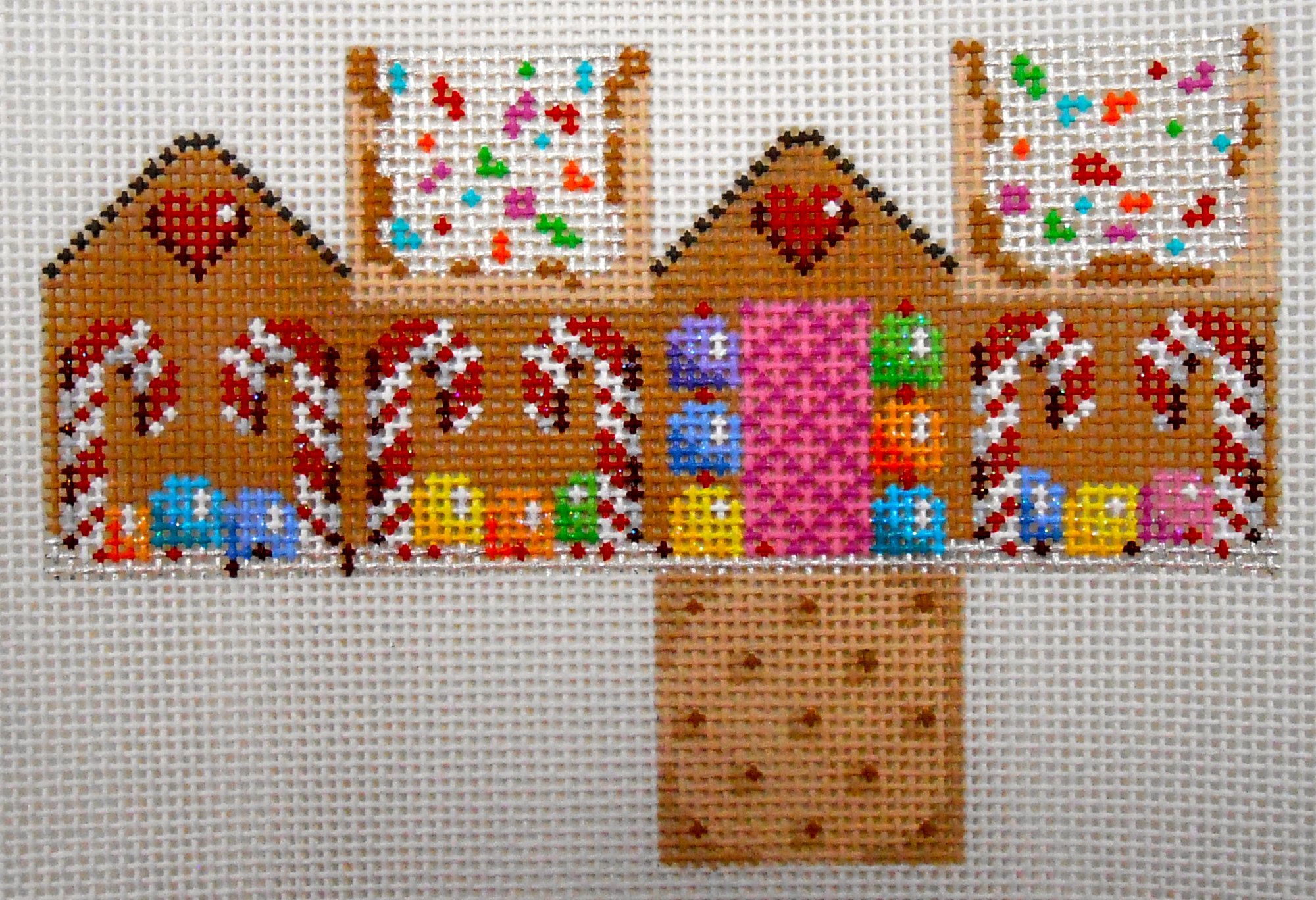 Midi Cottage with Gumdrops & Candy Canes