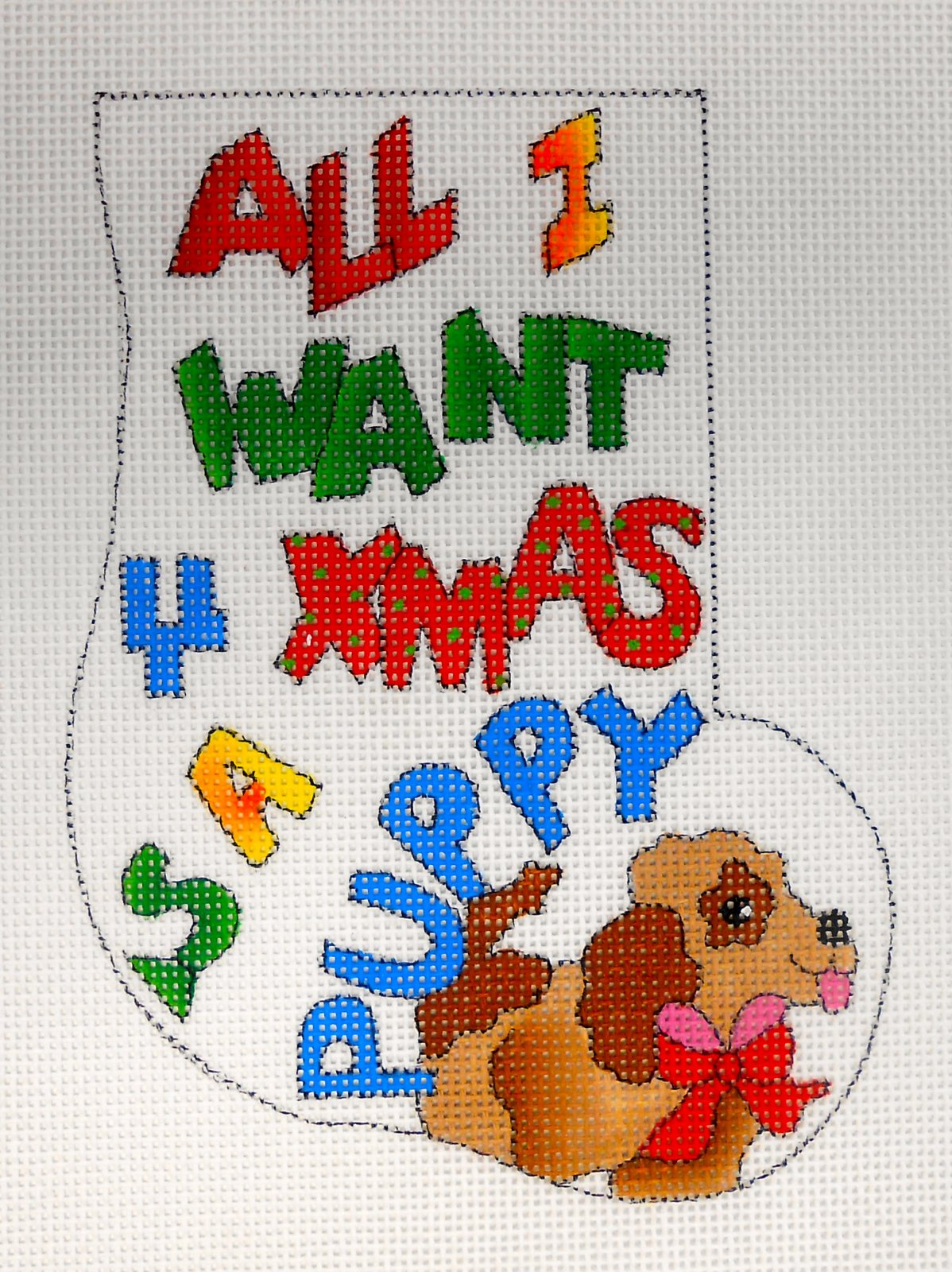 All I Want . . . puppy minisock