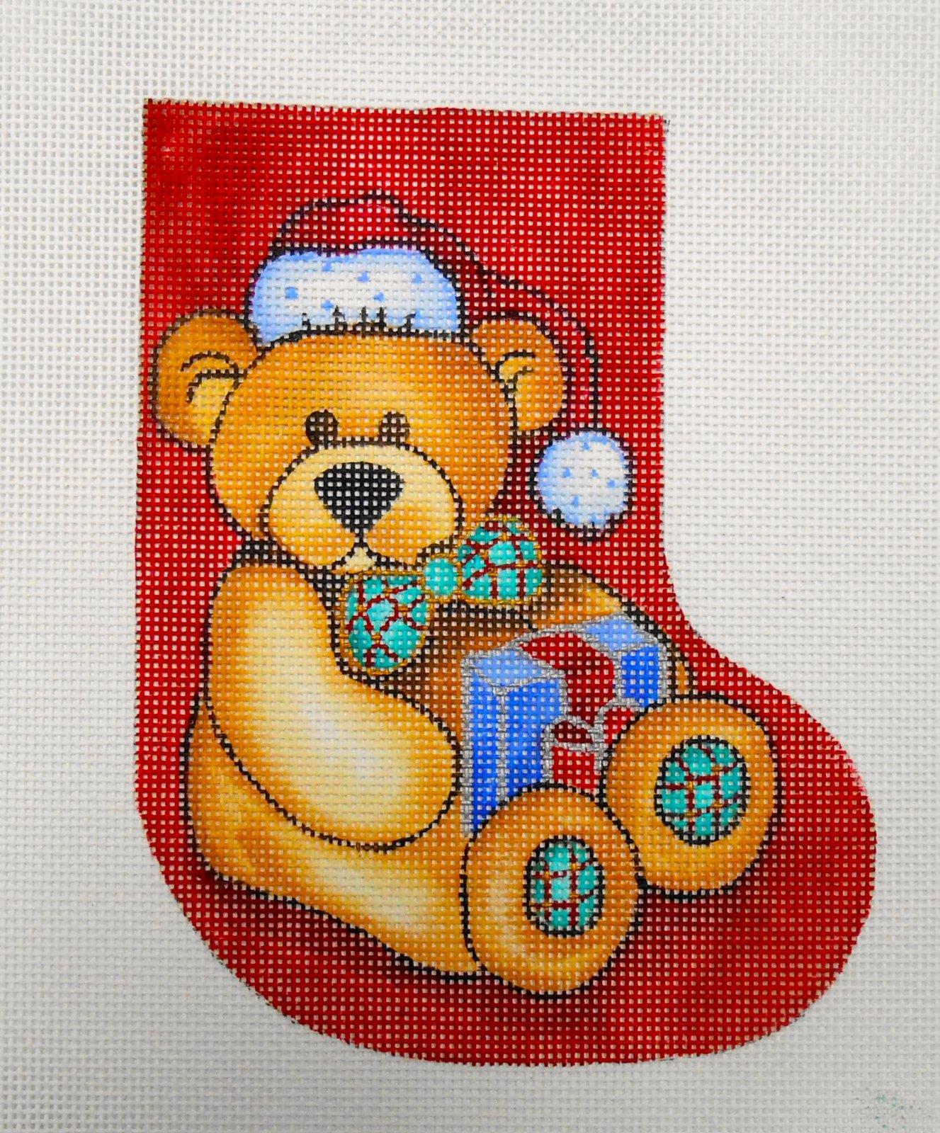 Christmas Bear Stocking