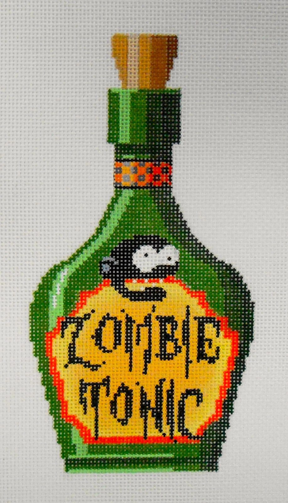 Zombie Tonic Poison Bottle