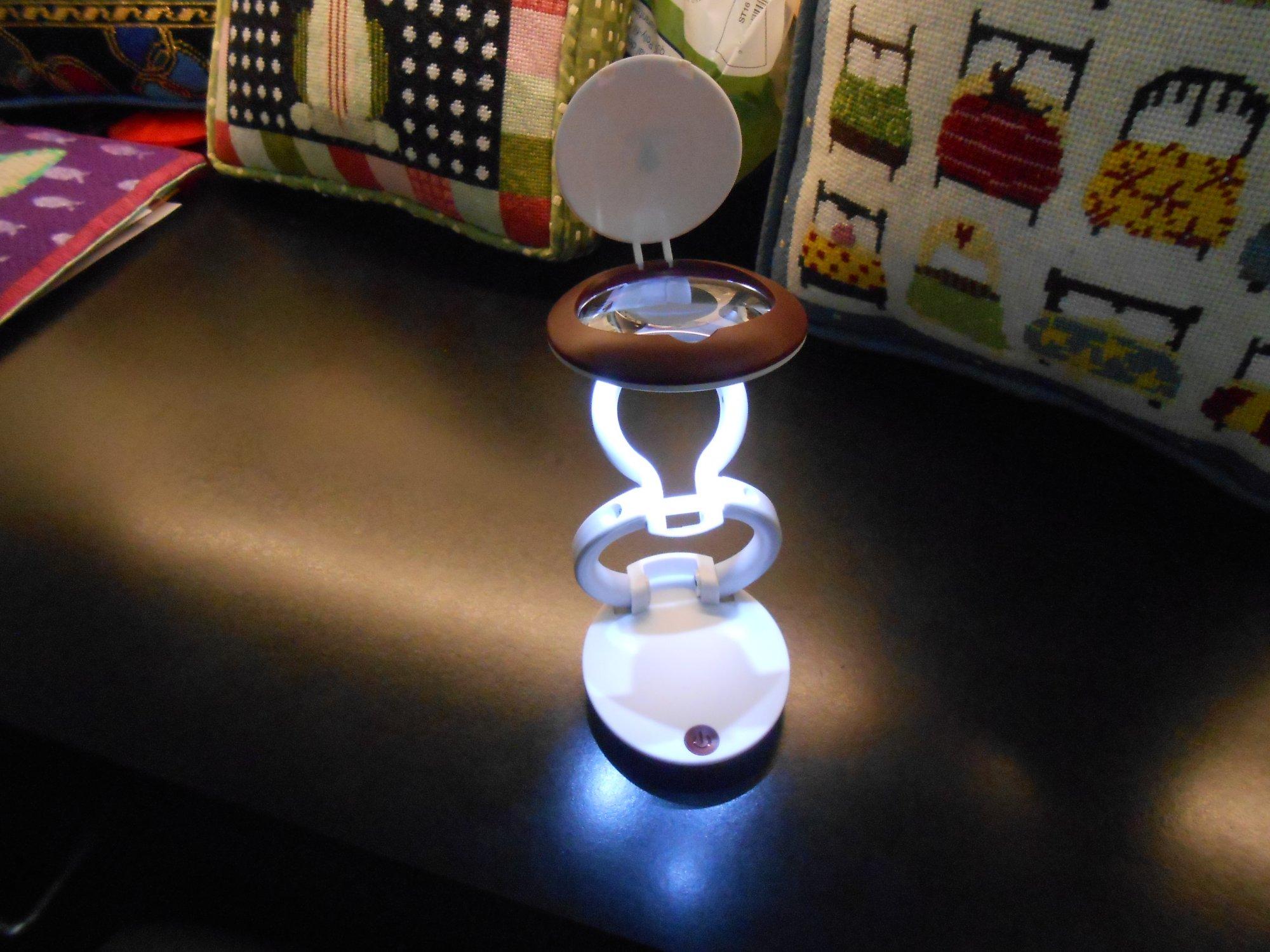 Yo-Yo Magnifier