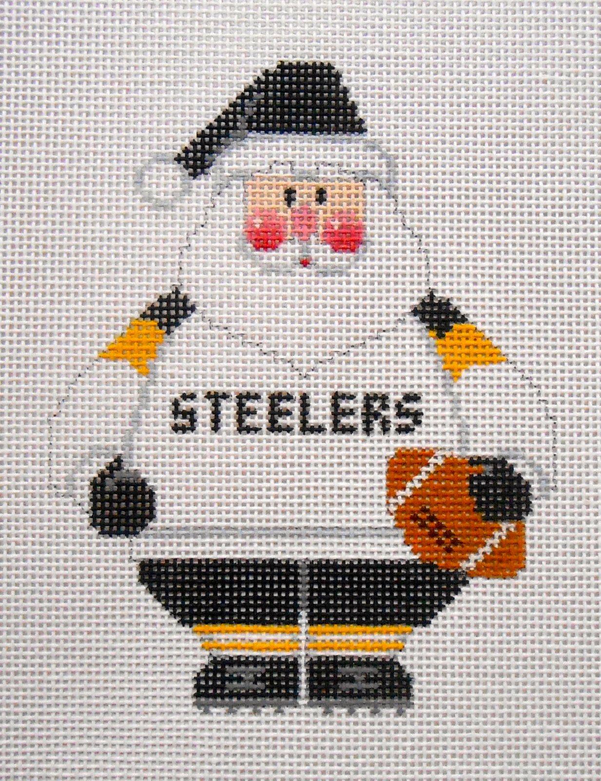 Pittsburgh Steelers Santa