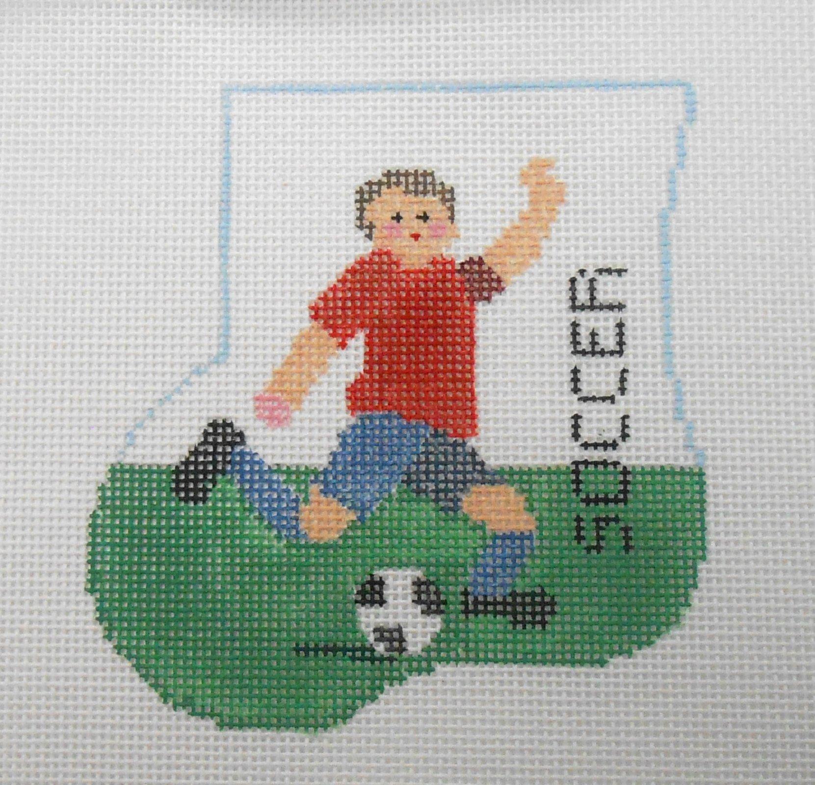Boy Soccer mini sock with Ball