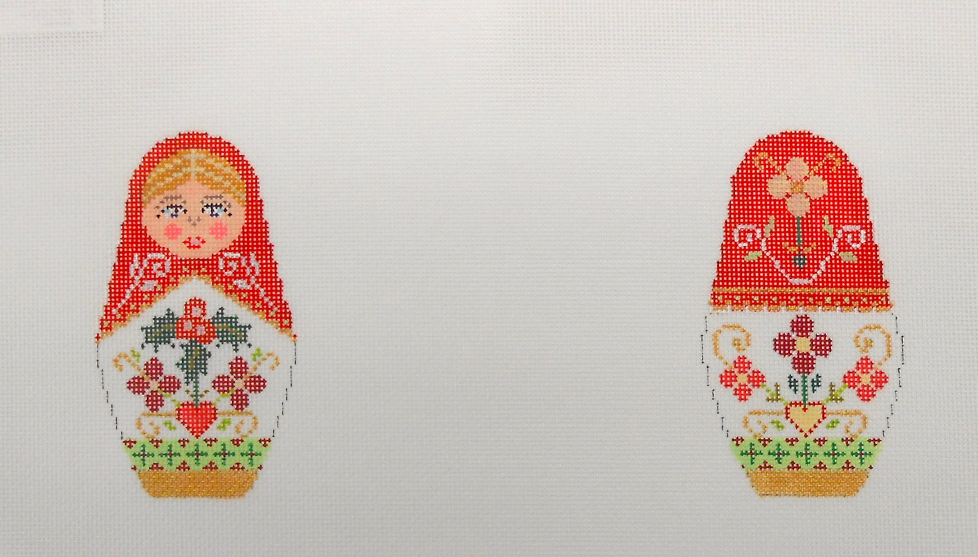 Christmas Russian Dolls - Medium