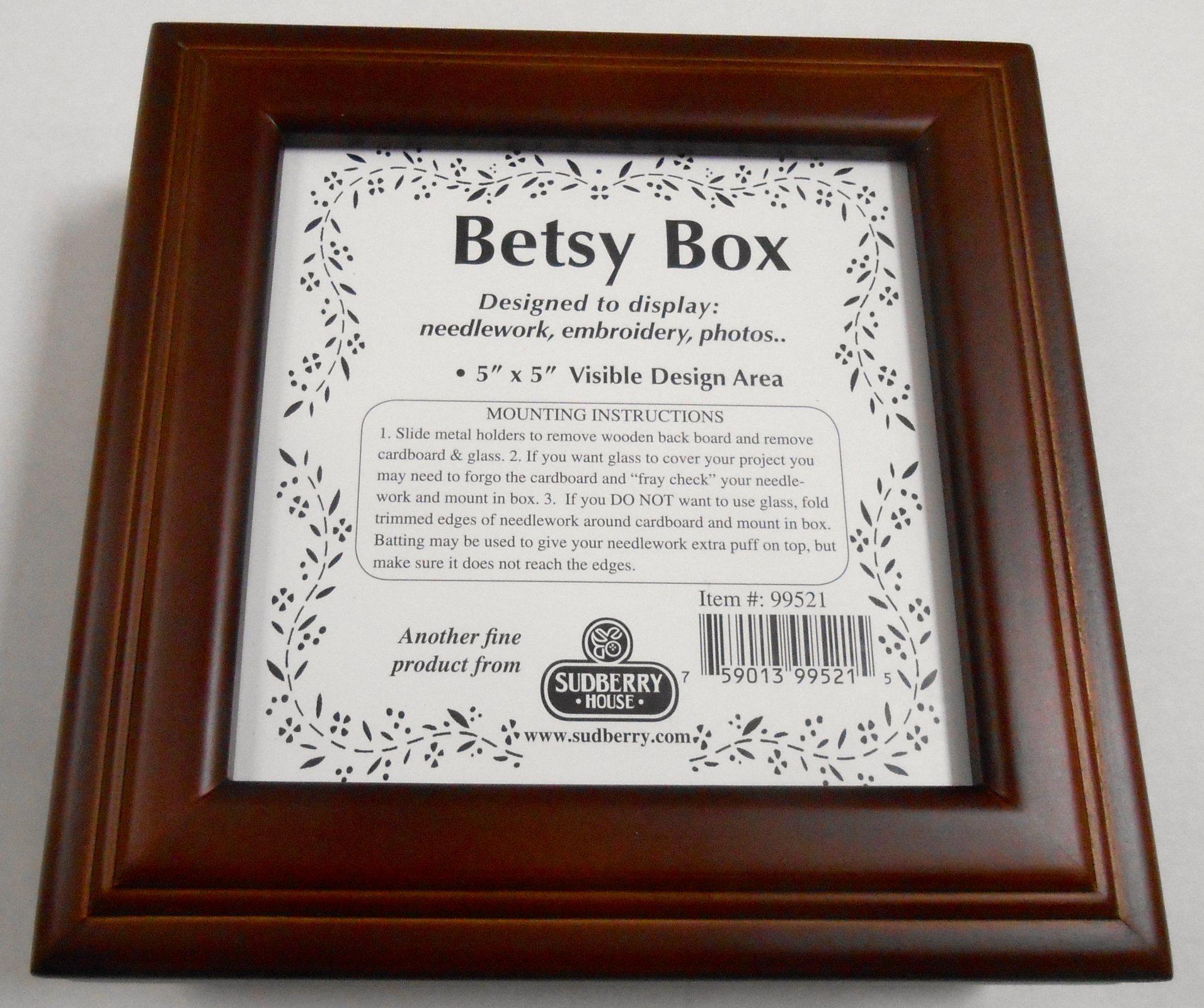 New Walnut Stain Betsy Box