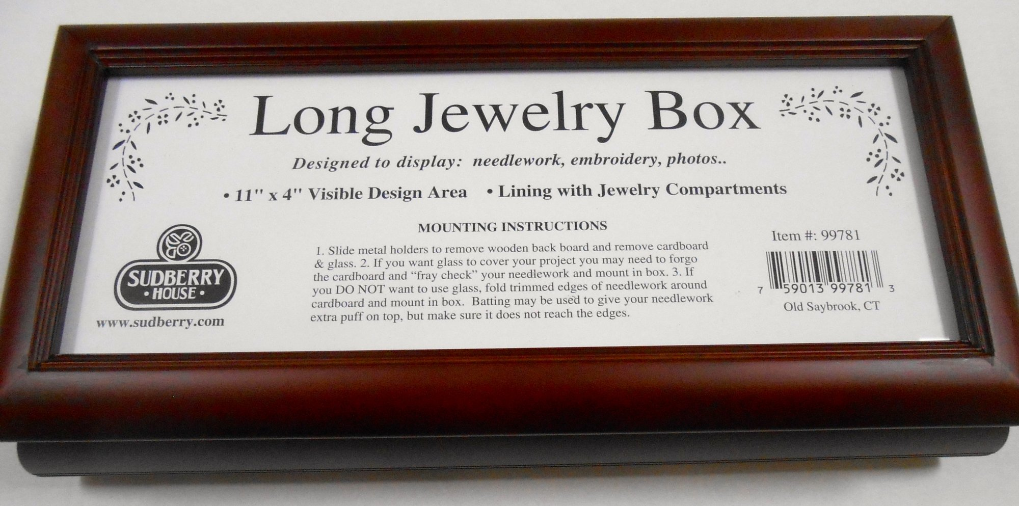New Long Jewelry Box