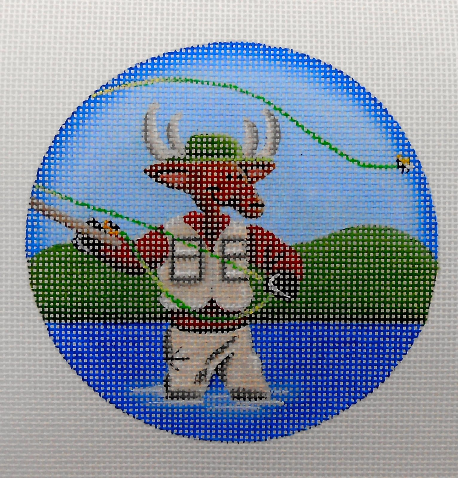 Fishing Reindeer