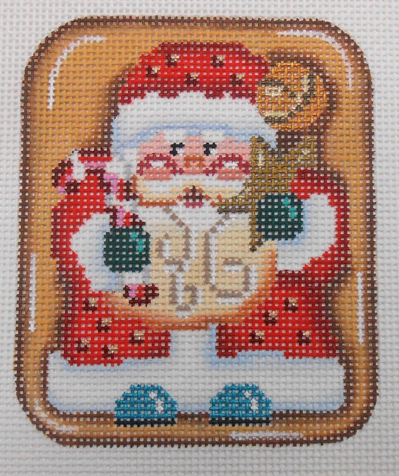 Full FIgure Santa Cookie