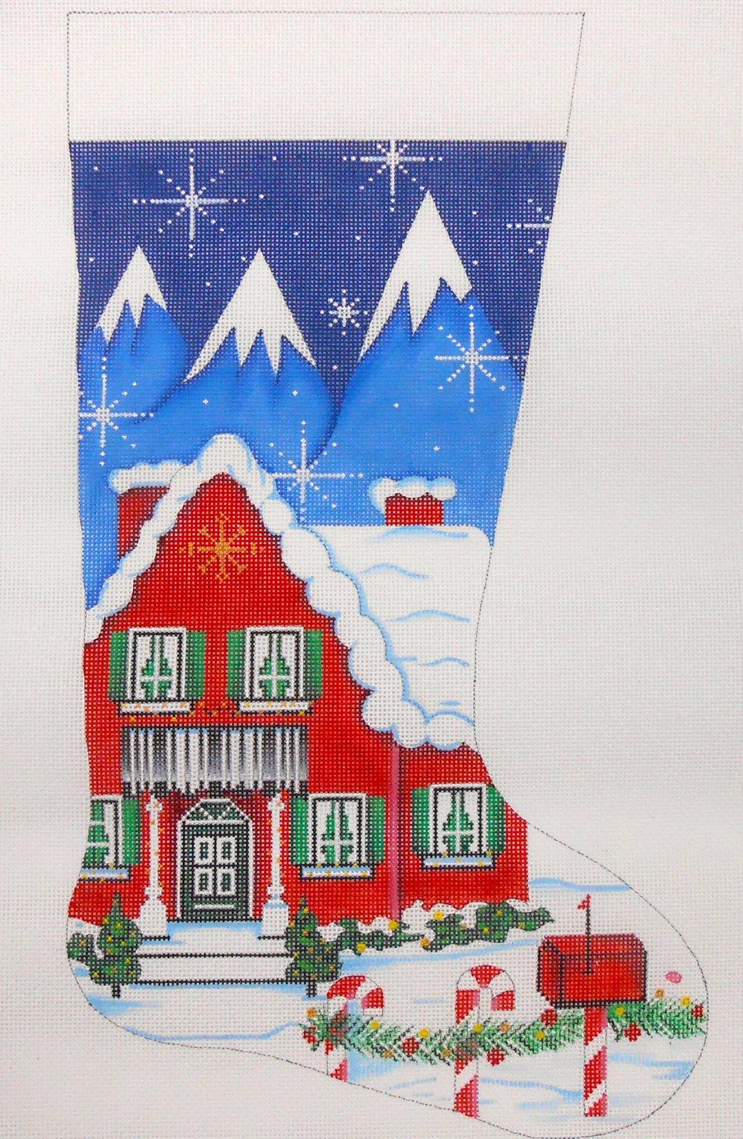 Christmas House Stocking