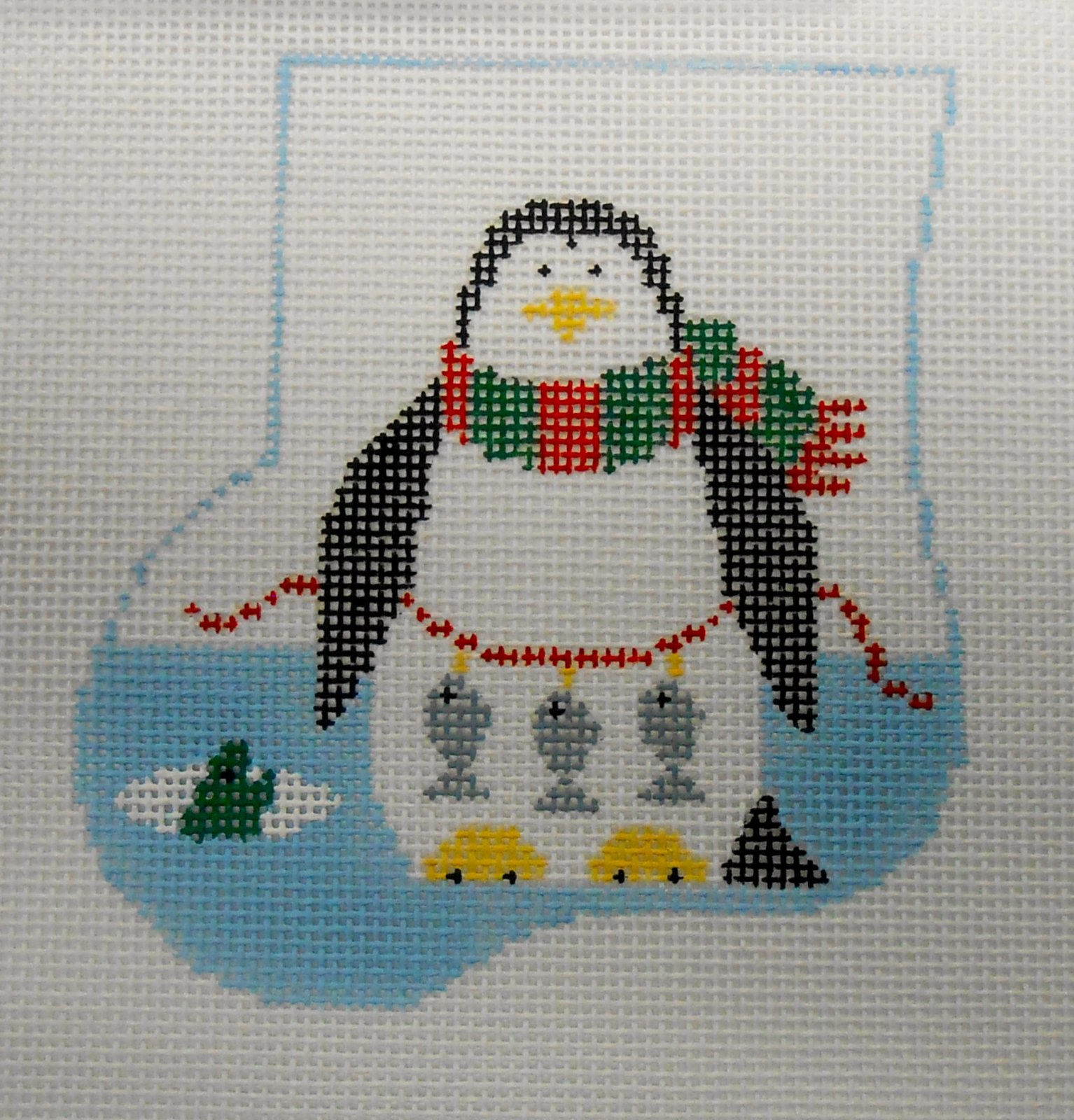 Fishing Penguin with Penguin