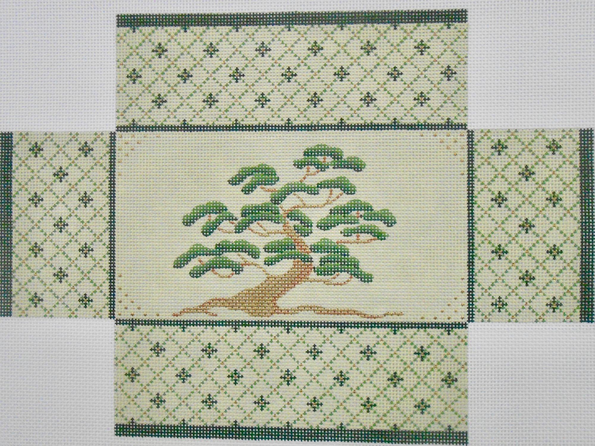 Oriental Cypress Tree Brick Cover