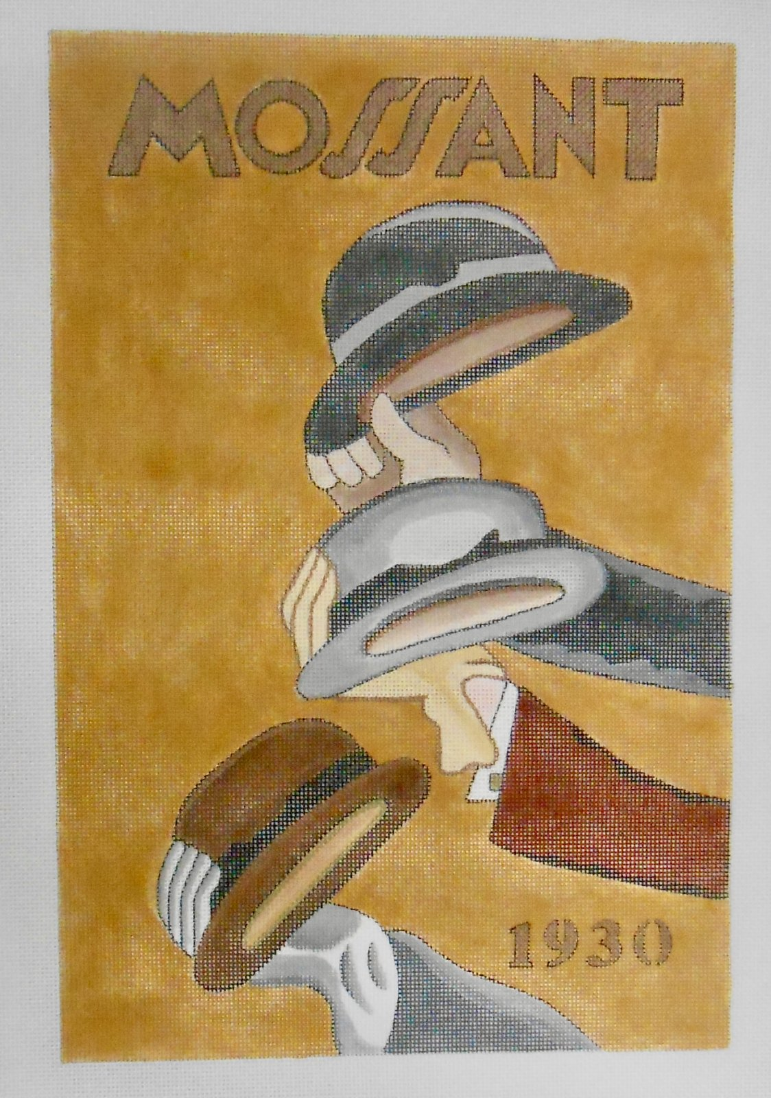 Mossant Hats Poster
