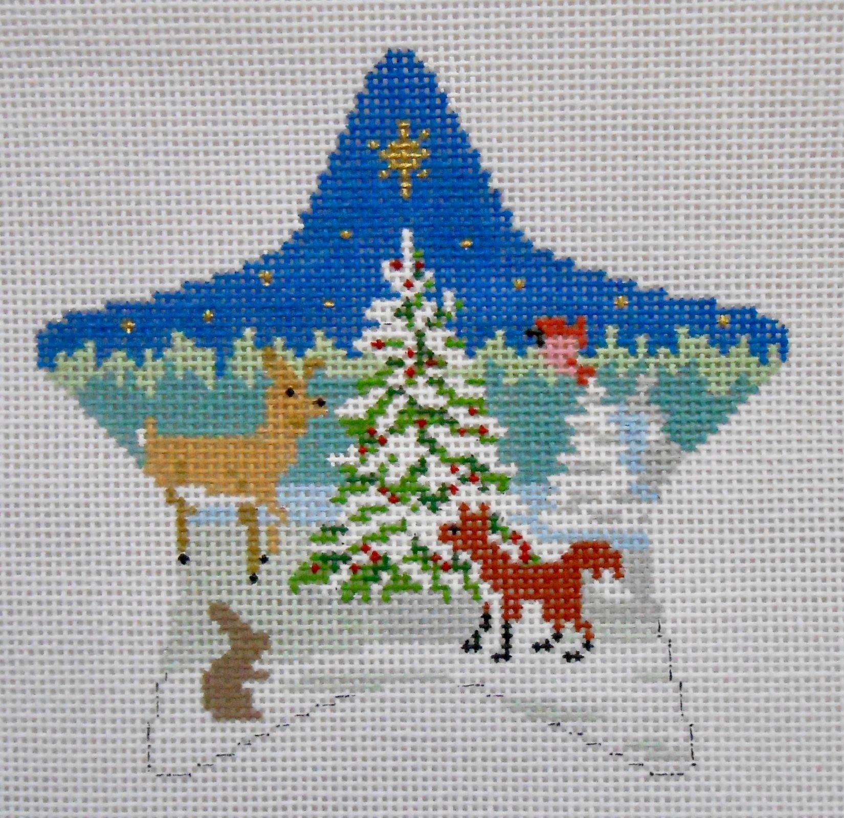Forest Tree & Animals Star
