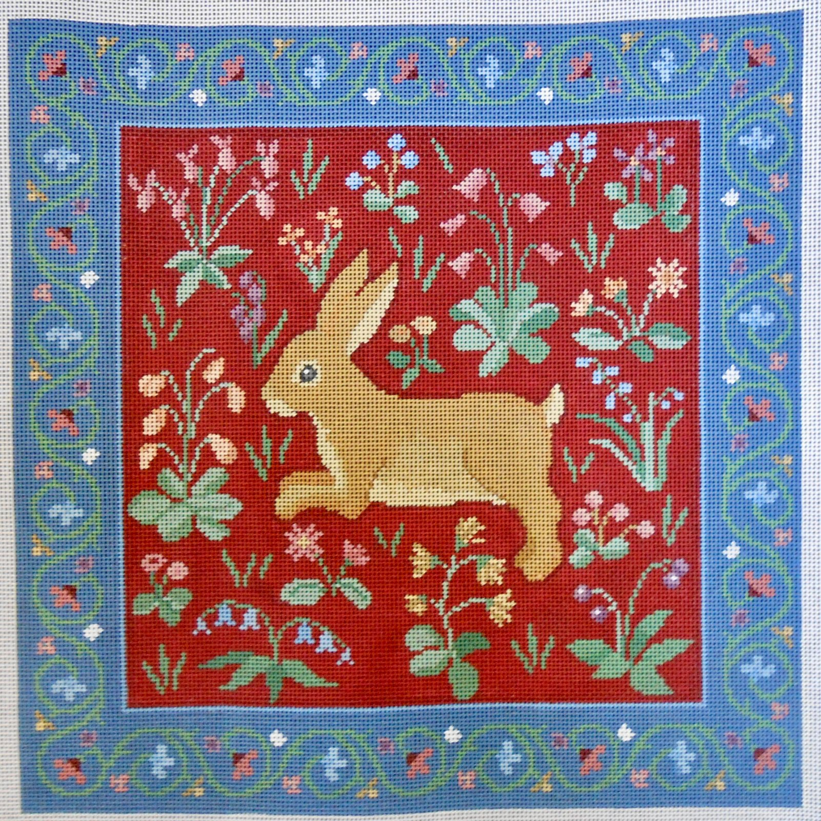 Cluny Rabbit in Red