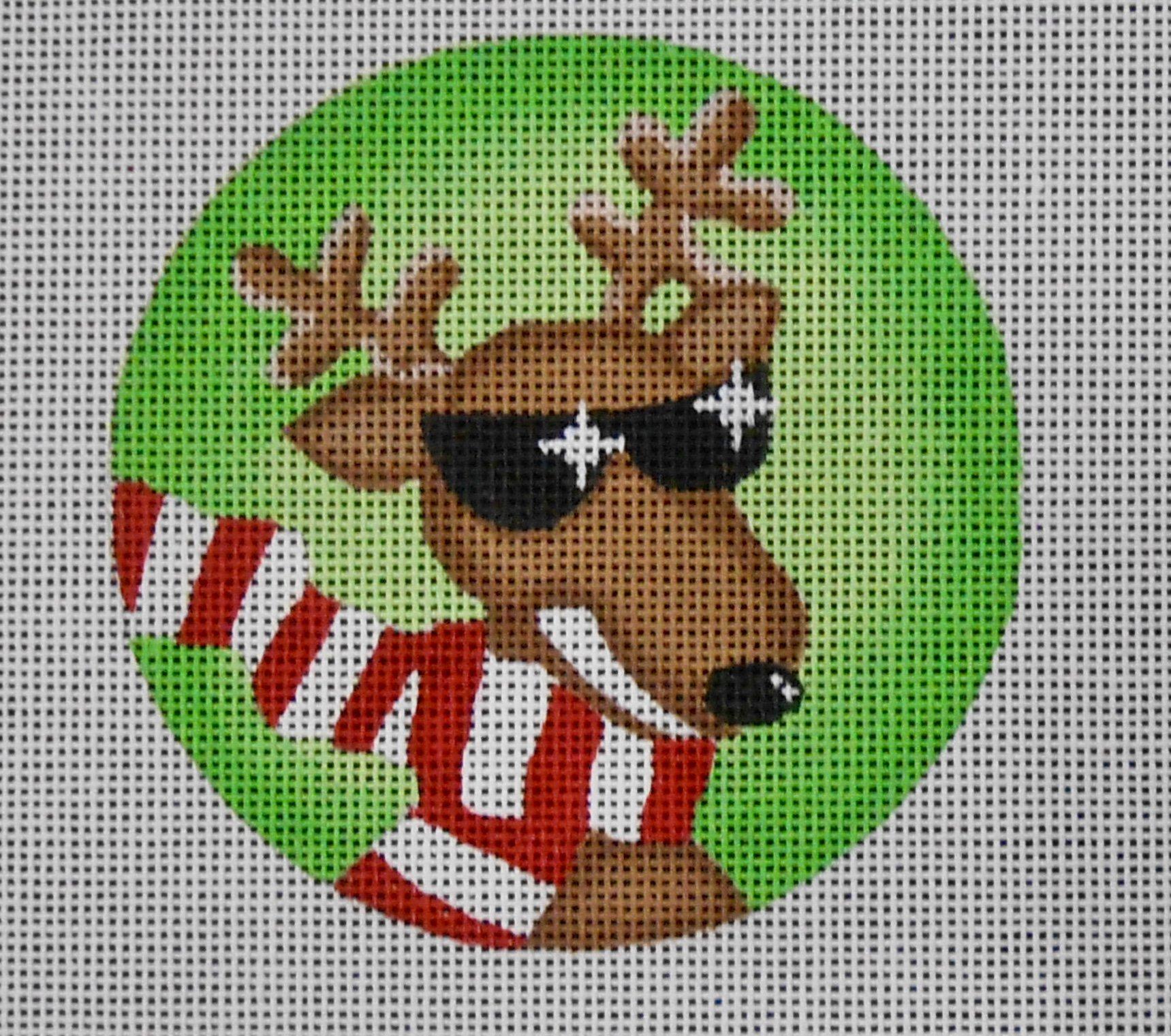 Cool Reindeer Ornament