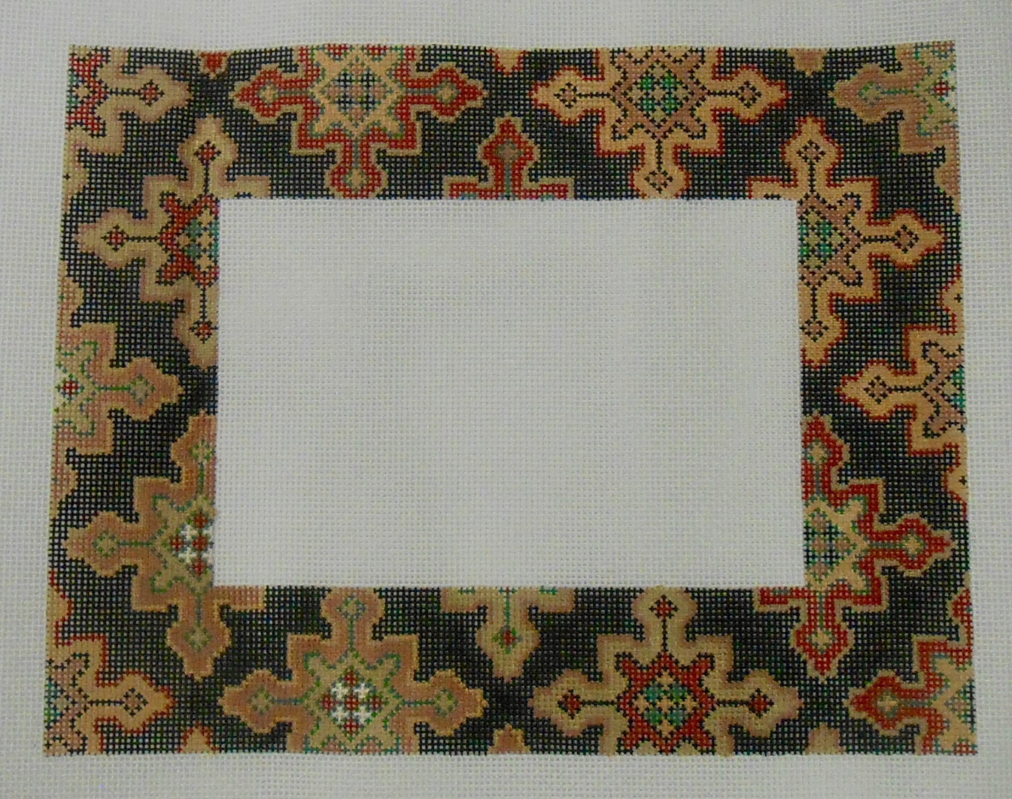 Persian Cross Picture Frame