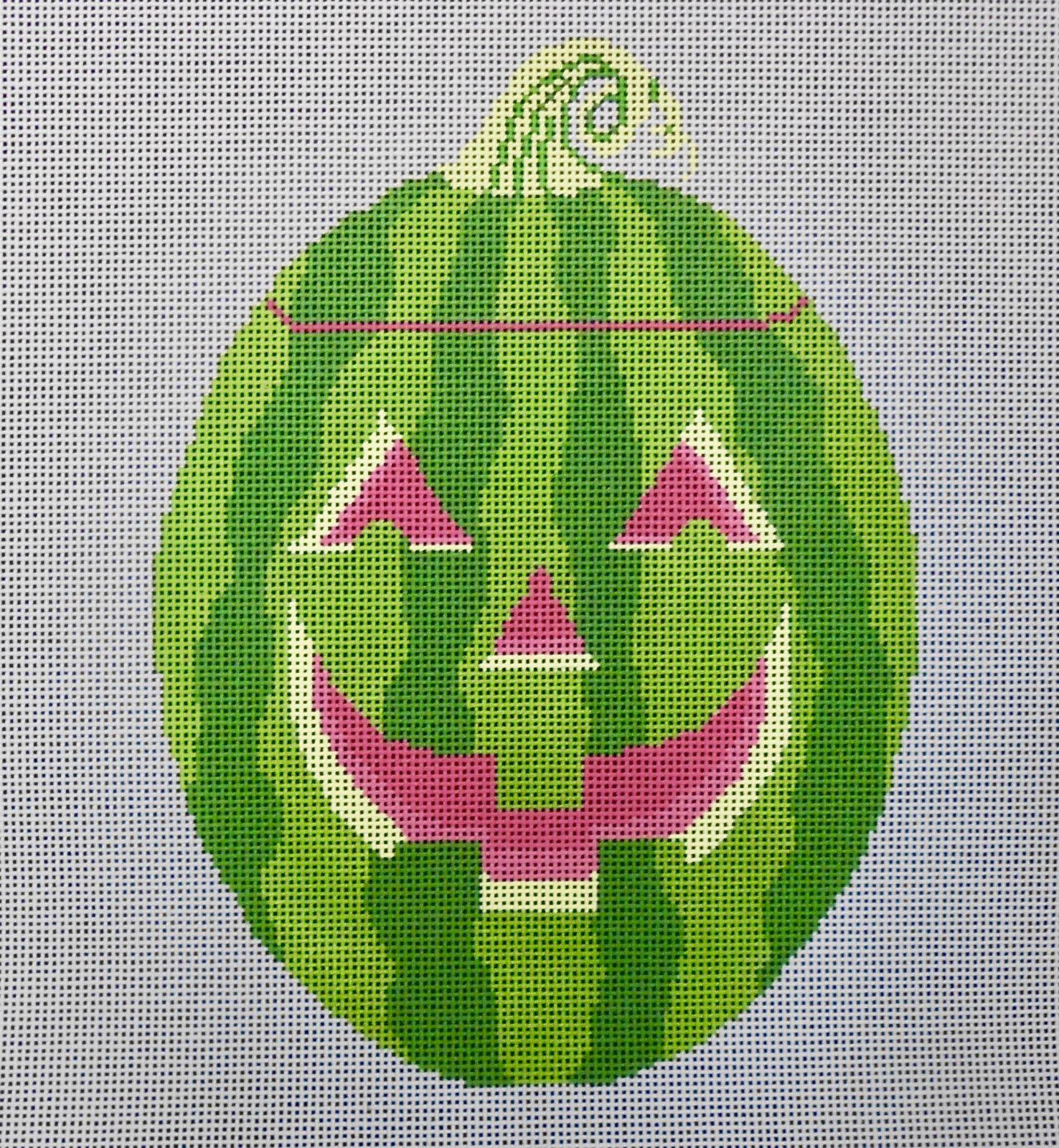Watermelon Jack-o-lantern