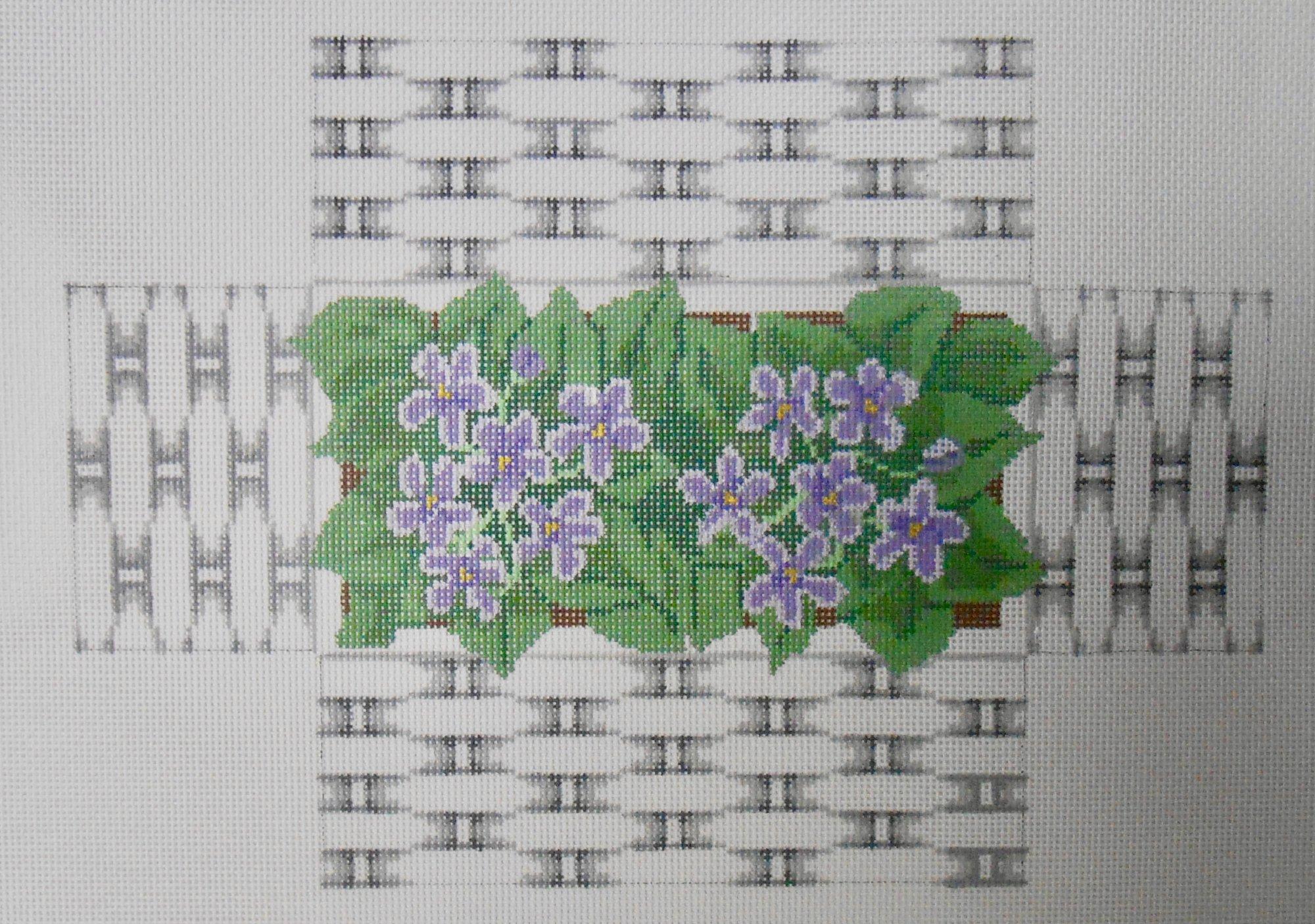 Violet Basket Brick Cover