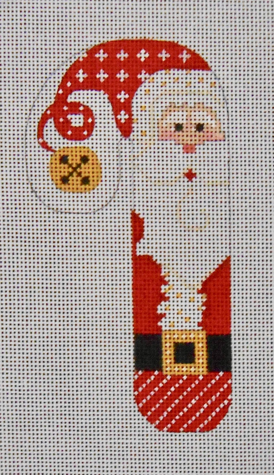 Santa Red/White Candy Cane