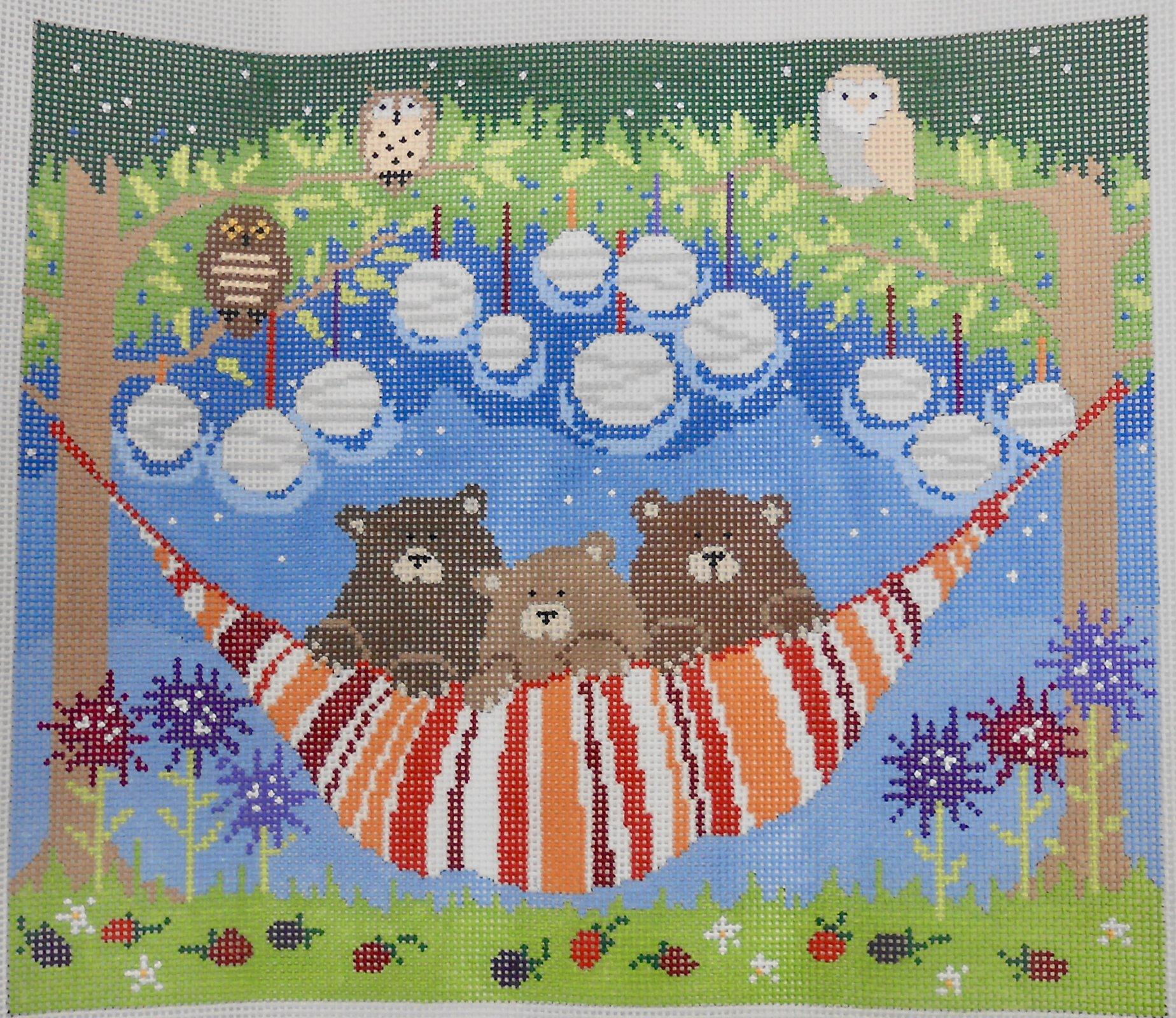 3 Bears in a Hammock