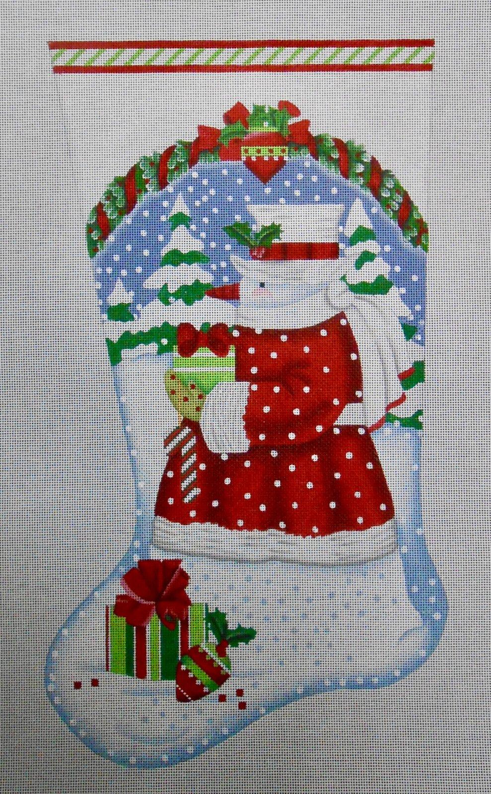 Classic Snowman Stocking